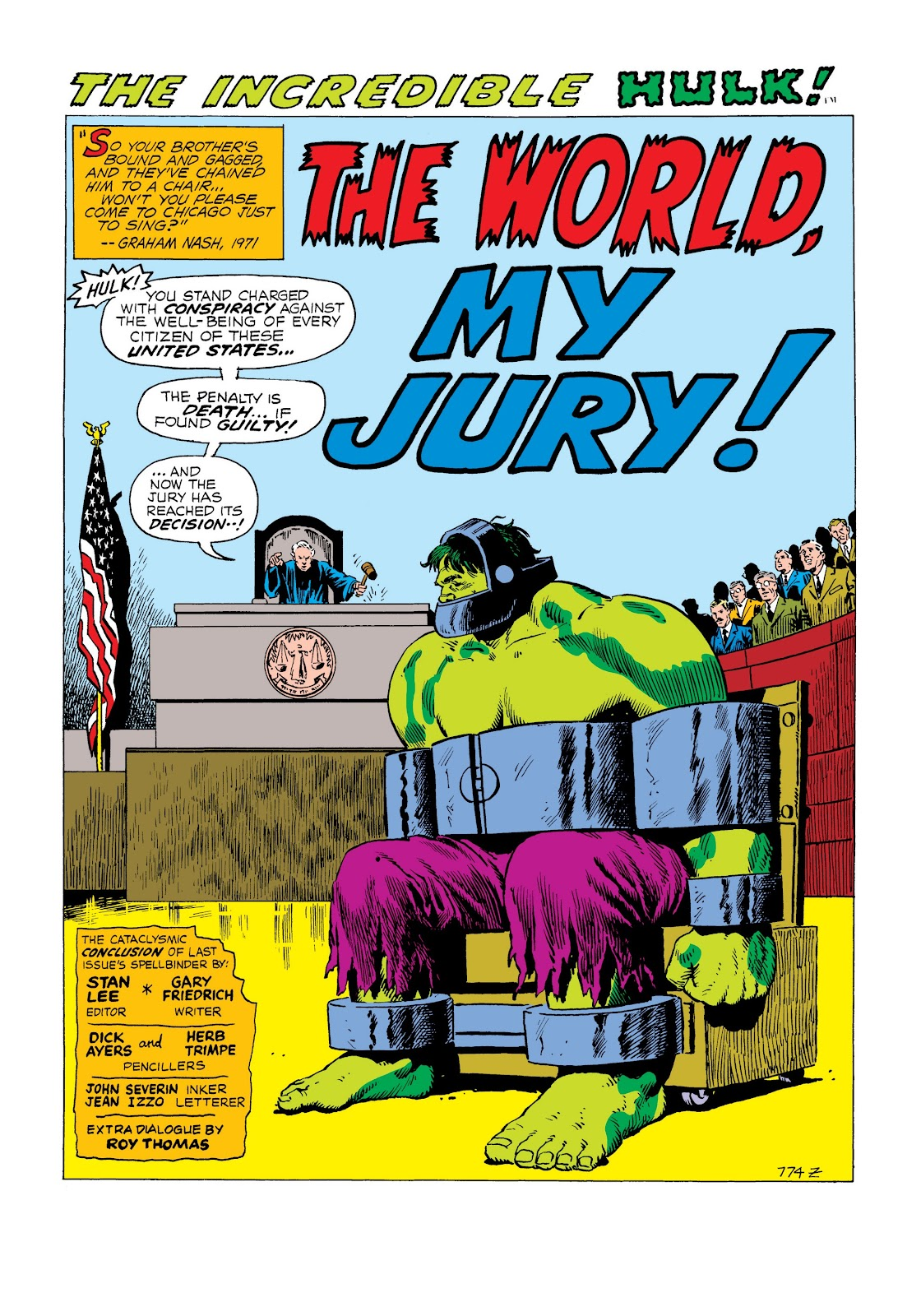 Read online Marvel Masterworks: The Incredible Hulk comic -  Issue # TPB 8 (Part 2) - 97