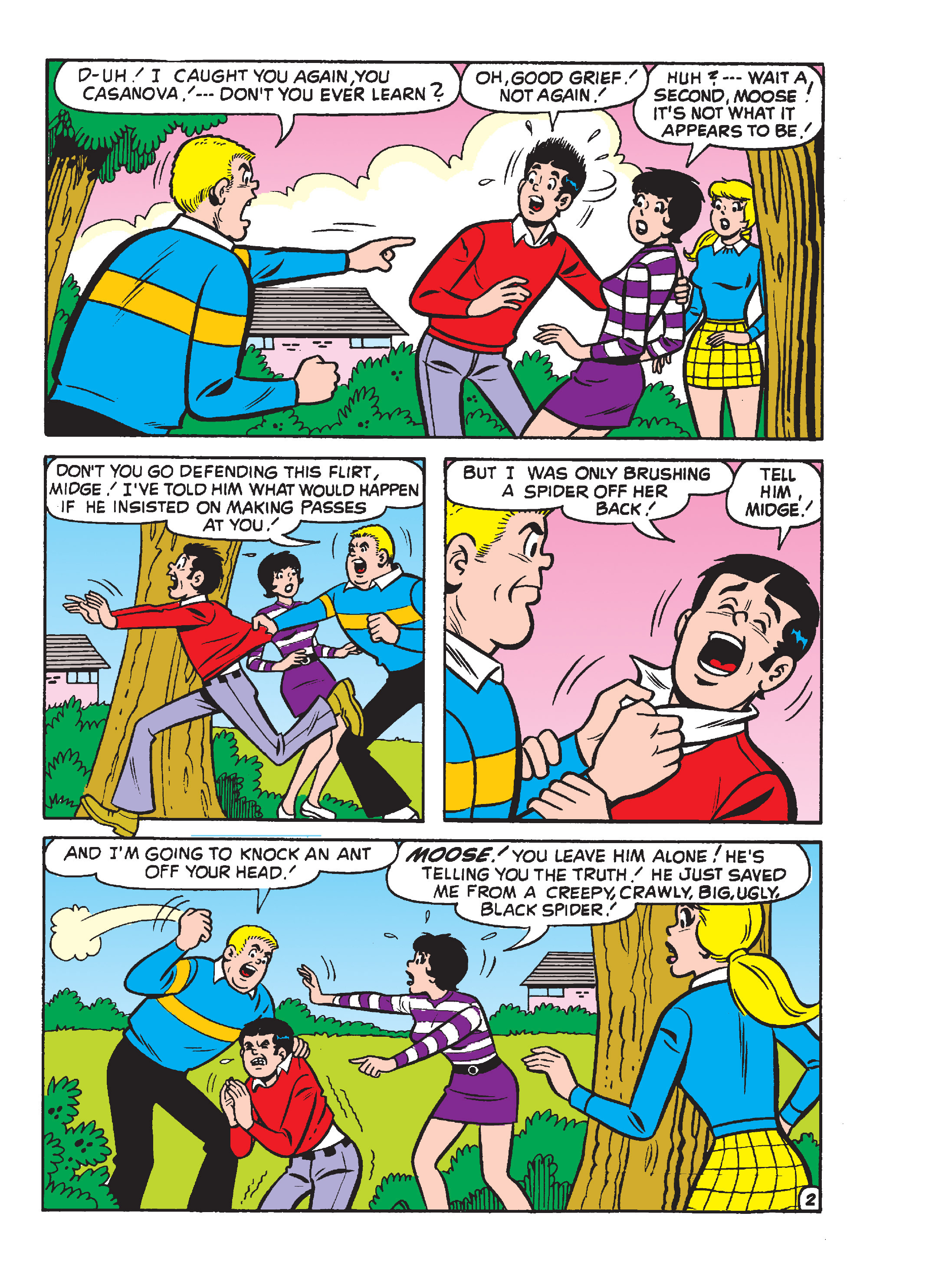 Read online Archie's Funhouse Double Digest comic -  Issue #17 - 68