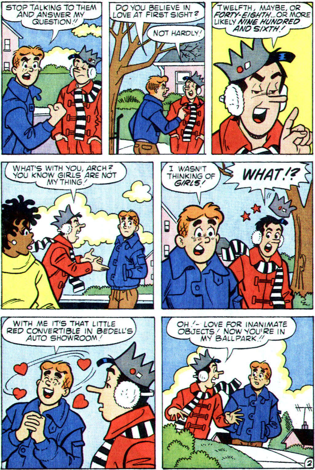 Read online Archie (1960) comic -  Issue #355 - 14