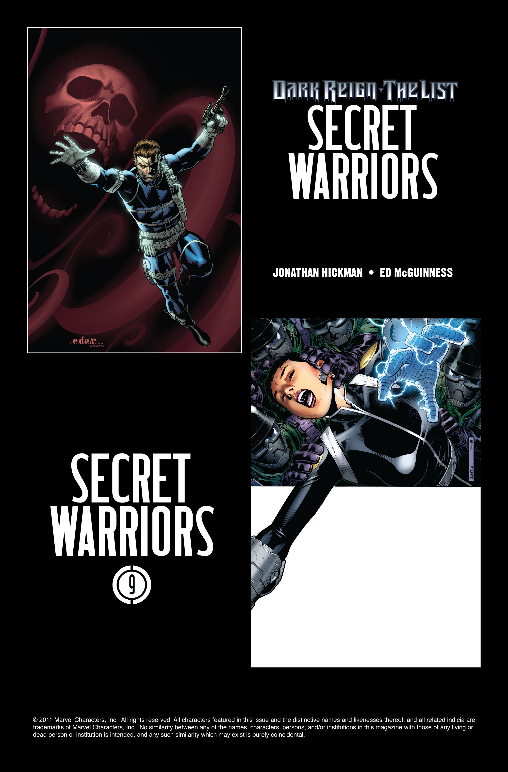 Read online Secret Warriors comic -  Issue #8 - 26