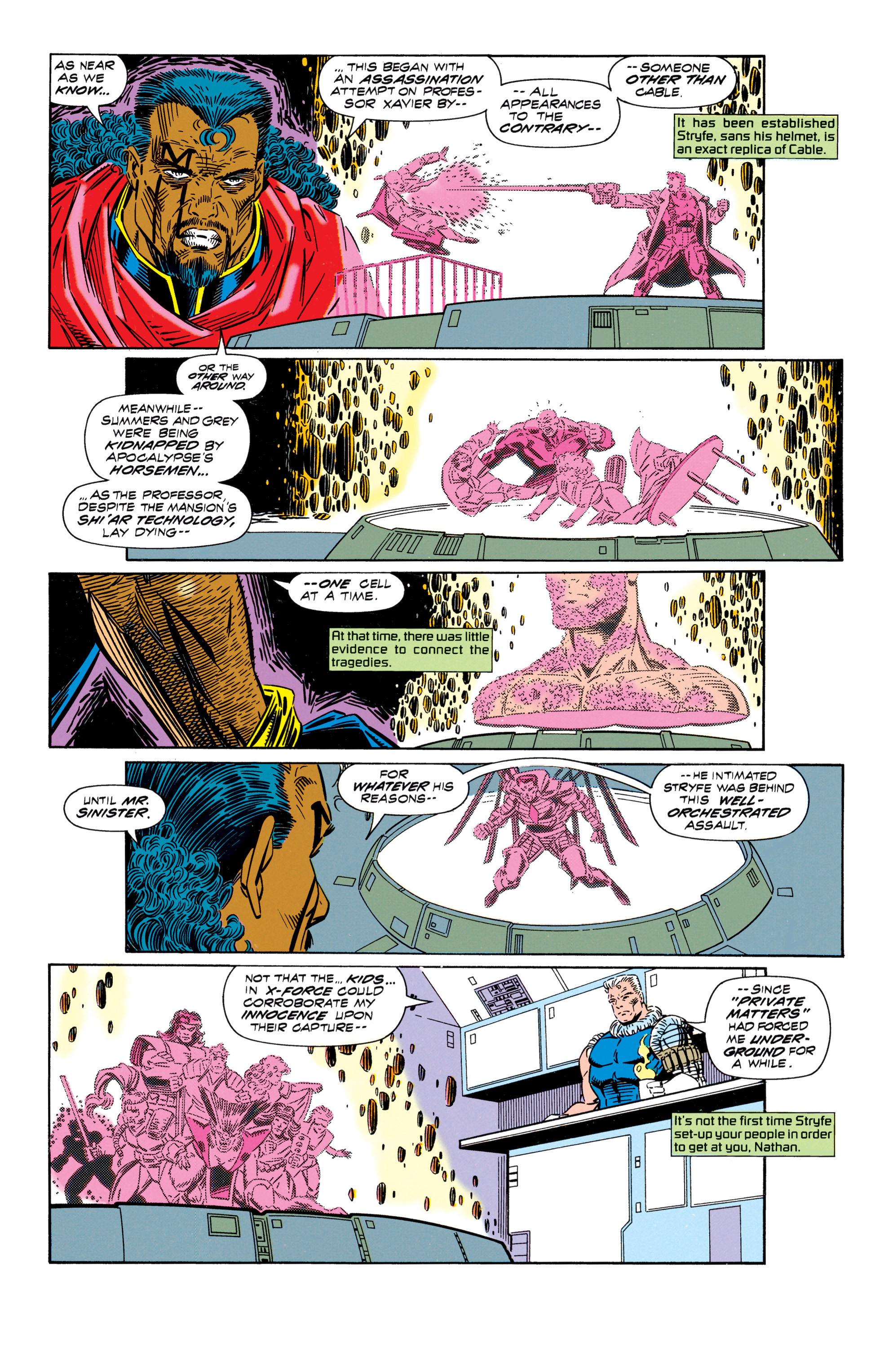 Read online Uncanny X-Men (1963) comic -  Issue #296 - 9