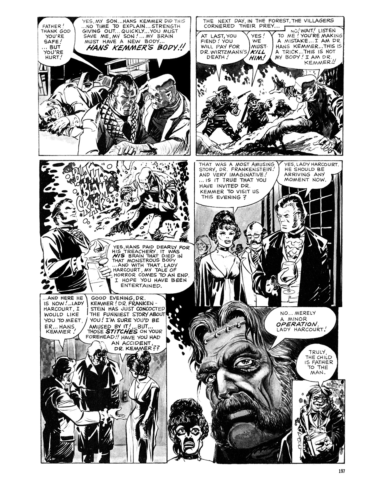 Read online Eerie Archives comic -  Issue # TPB 8 - 198