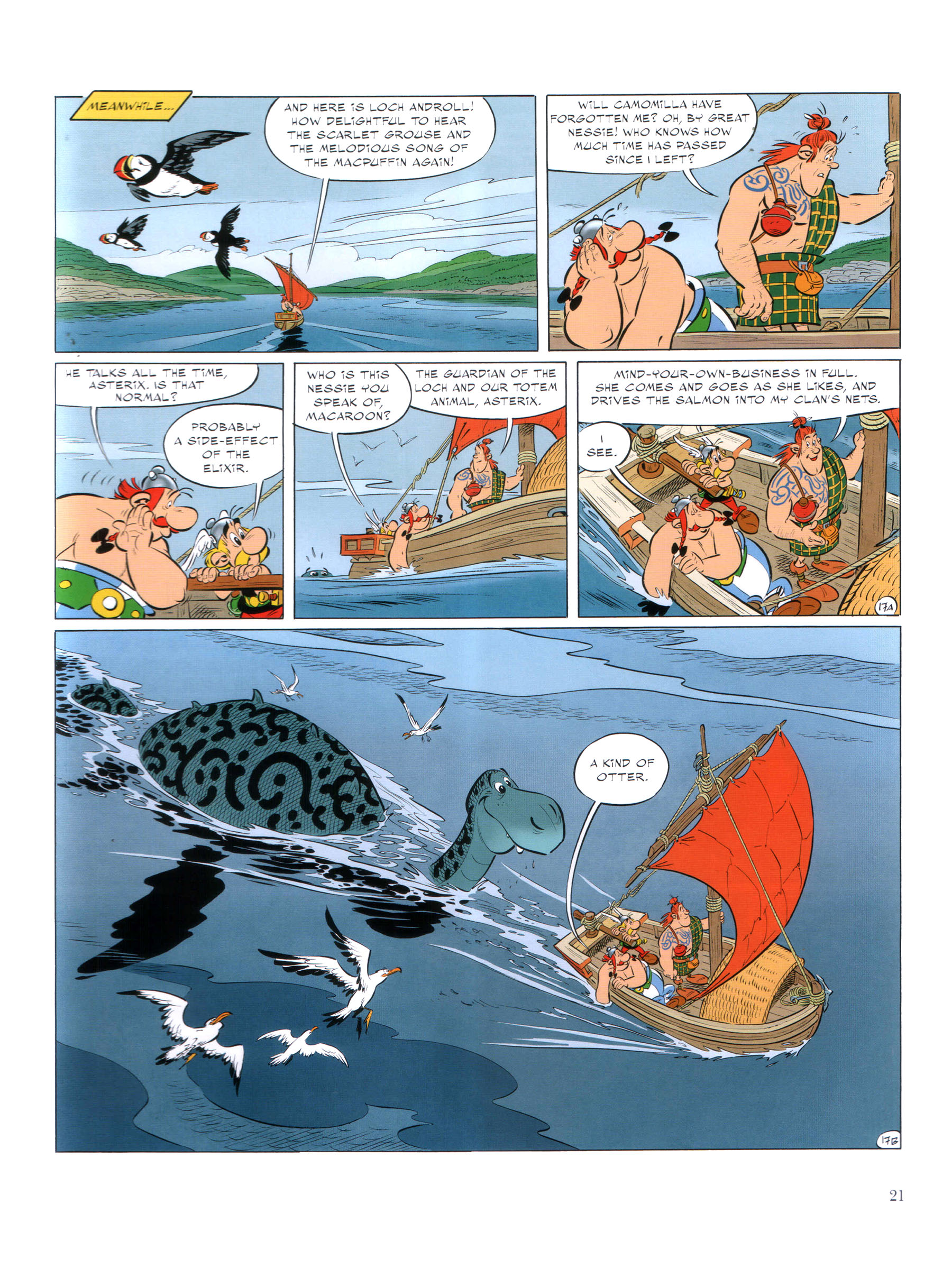 Read online Asterix comic -  Issue #35 - 22