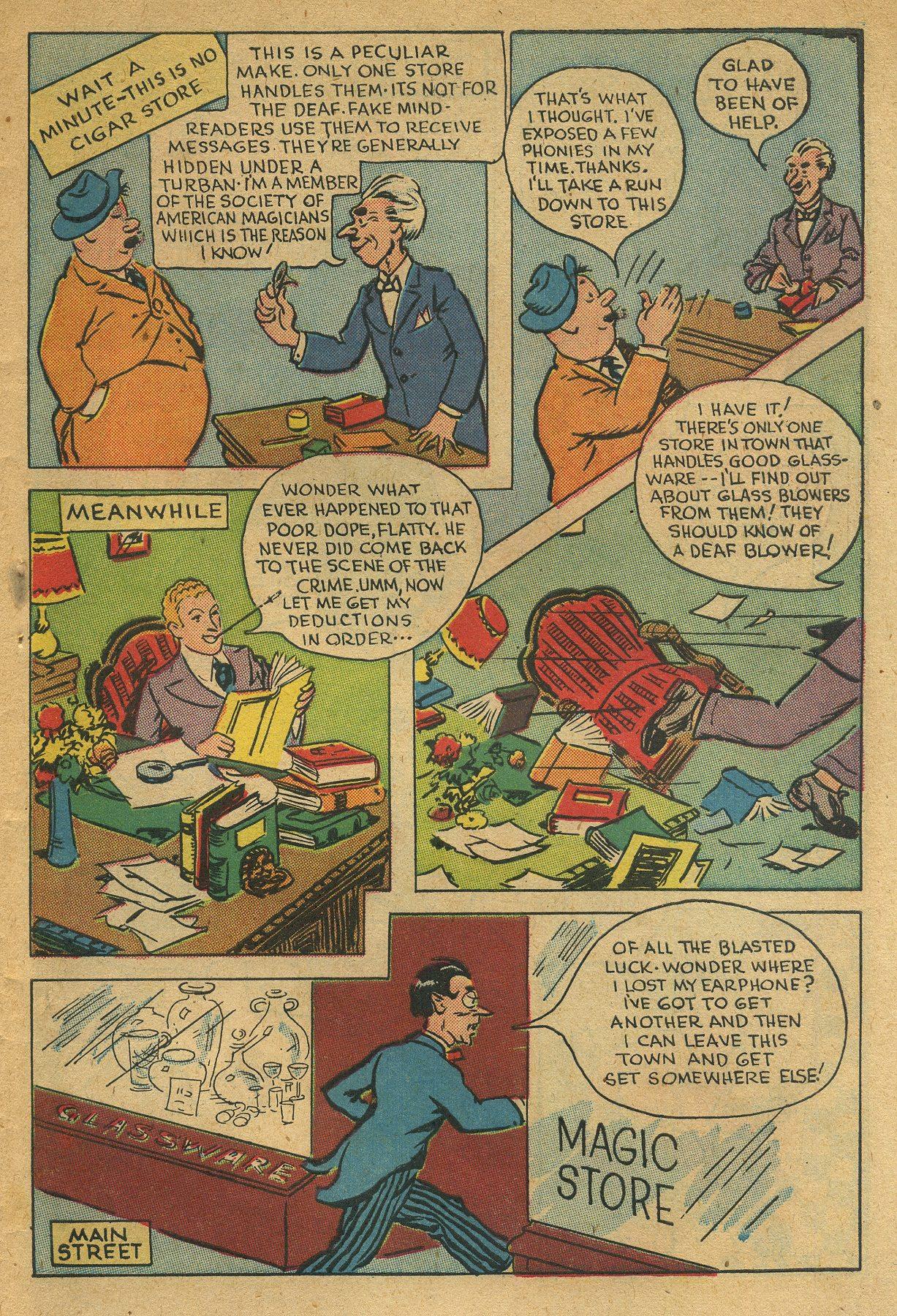 Read online Shadow Comics comic -  Issue #49 - 39