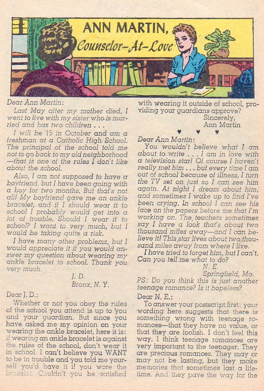 Read online Secret Hearts comic -  Issue #72 - 25