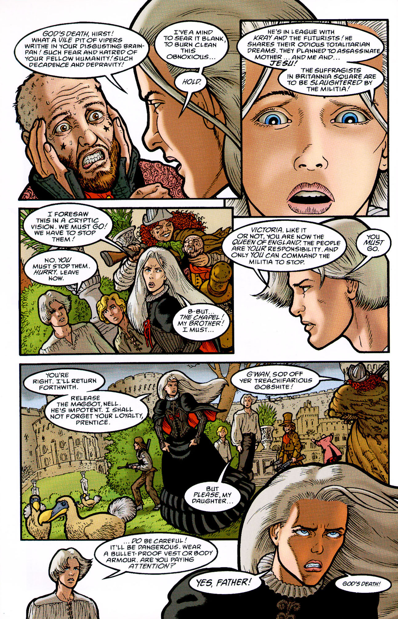 Read online Heart of Empire comic -  Issue #7 - 32