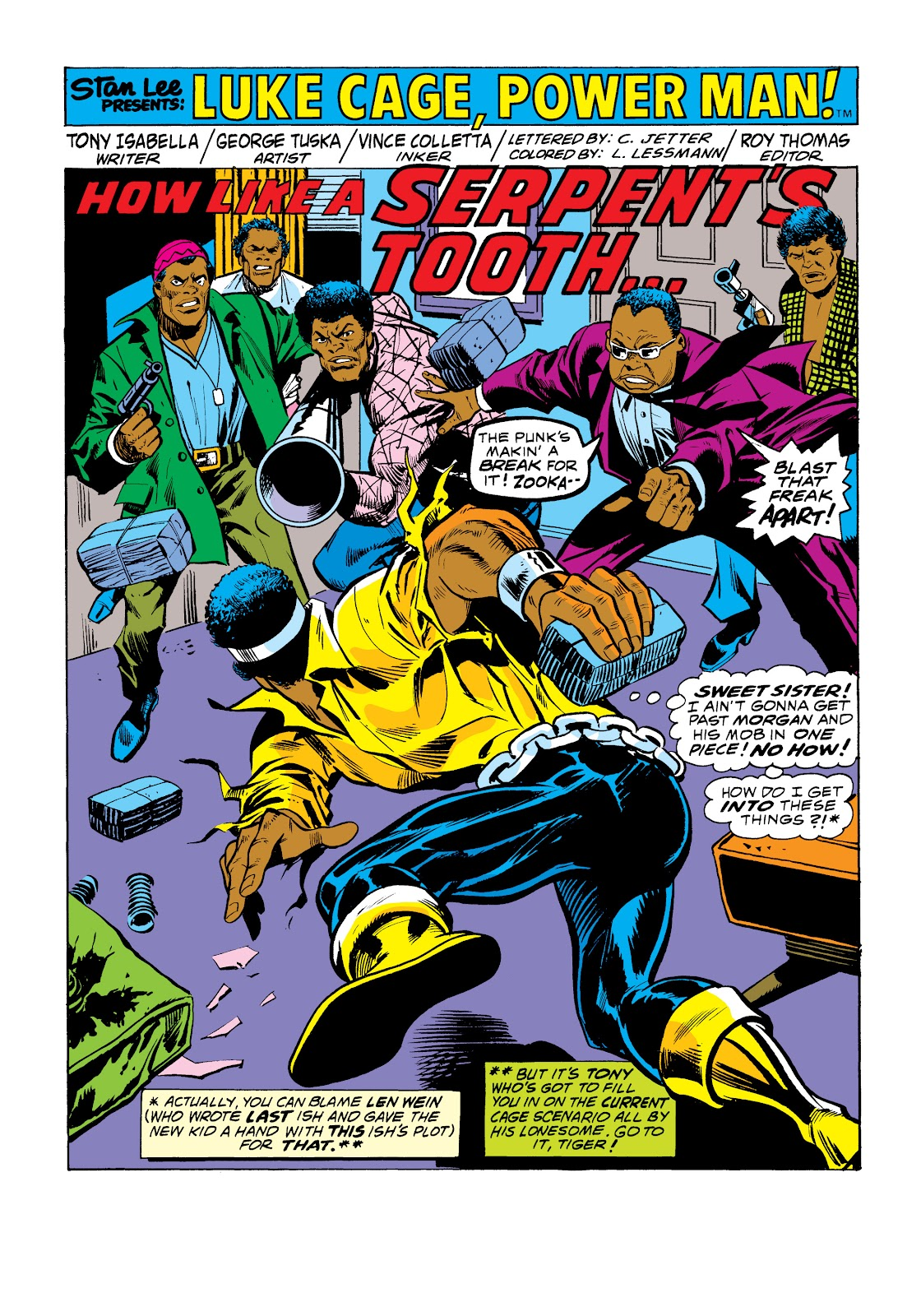 Read online Marvel Masterworks: Luke Cage, Power Man comic -  Issue # TPB 2 (Part 1) - 69
