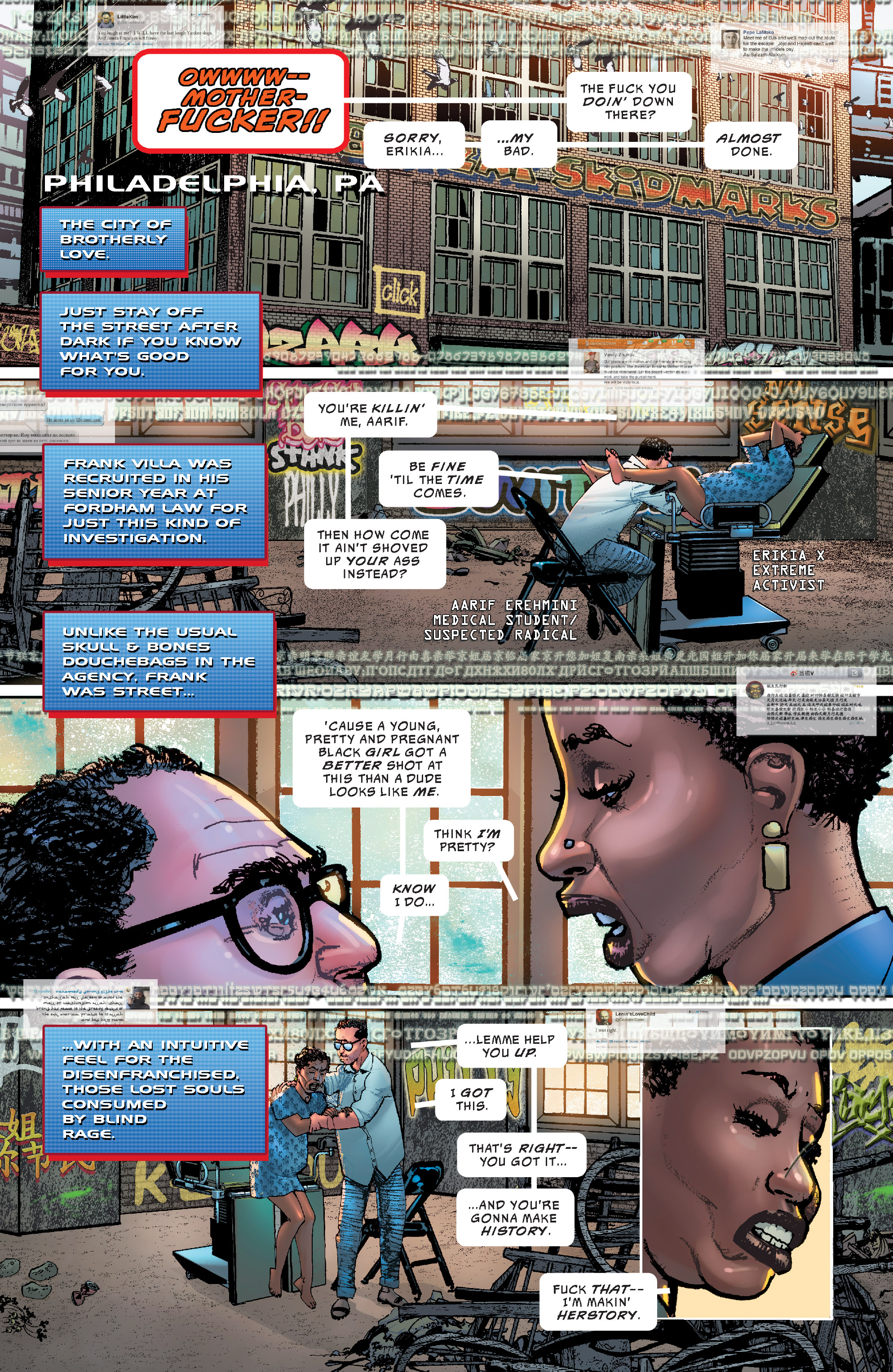 Read online The Divided States of Hysteria comic -  Issue #1 - 14