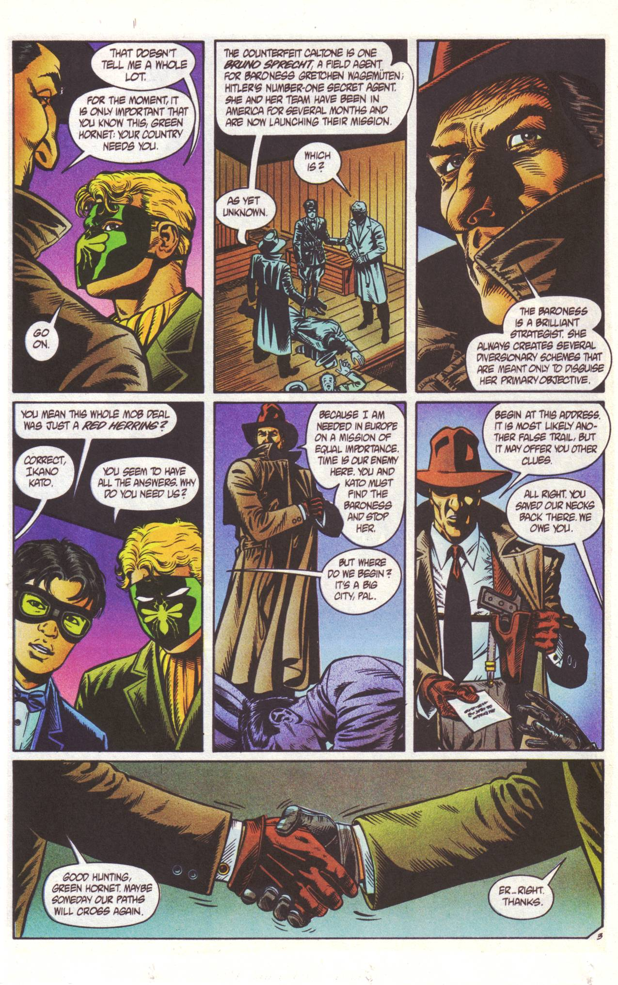 Read online Sting of The Green Hornet comic -  Issue #2 - 4