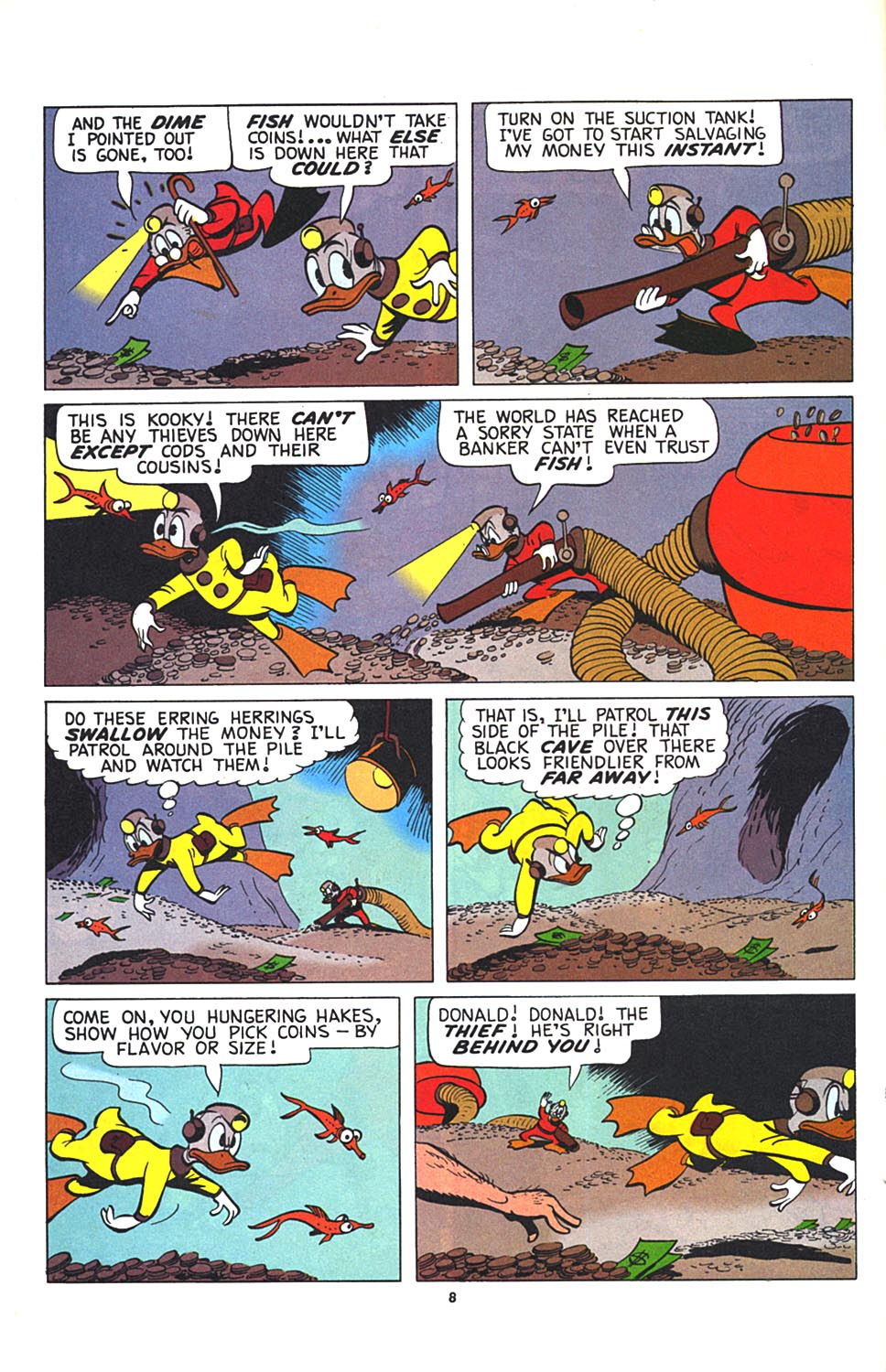 Read online Uncle Scrooge (1953) comic -  Issue #274 - 9
