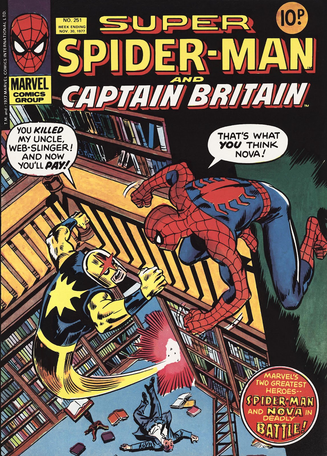 Super Spider-Man and Captain Britain issue 251 - Page 1