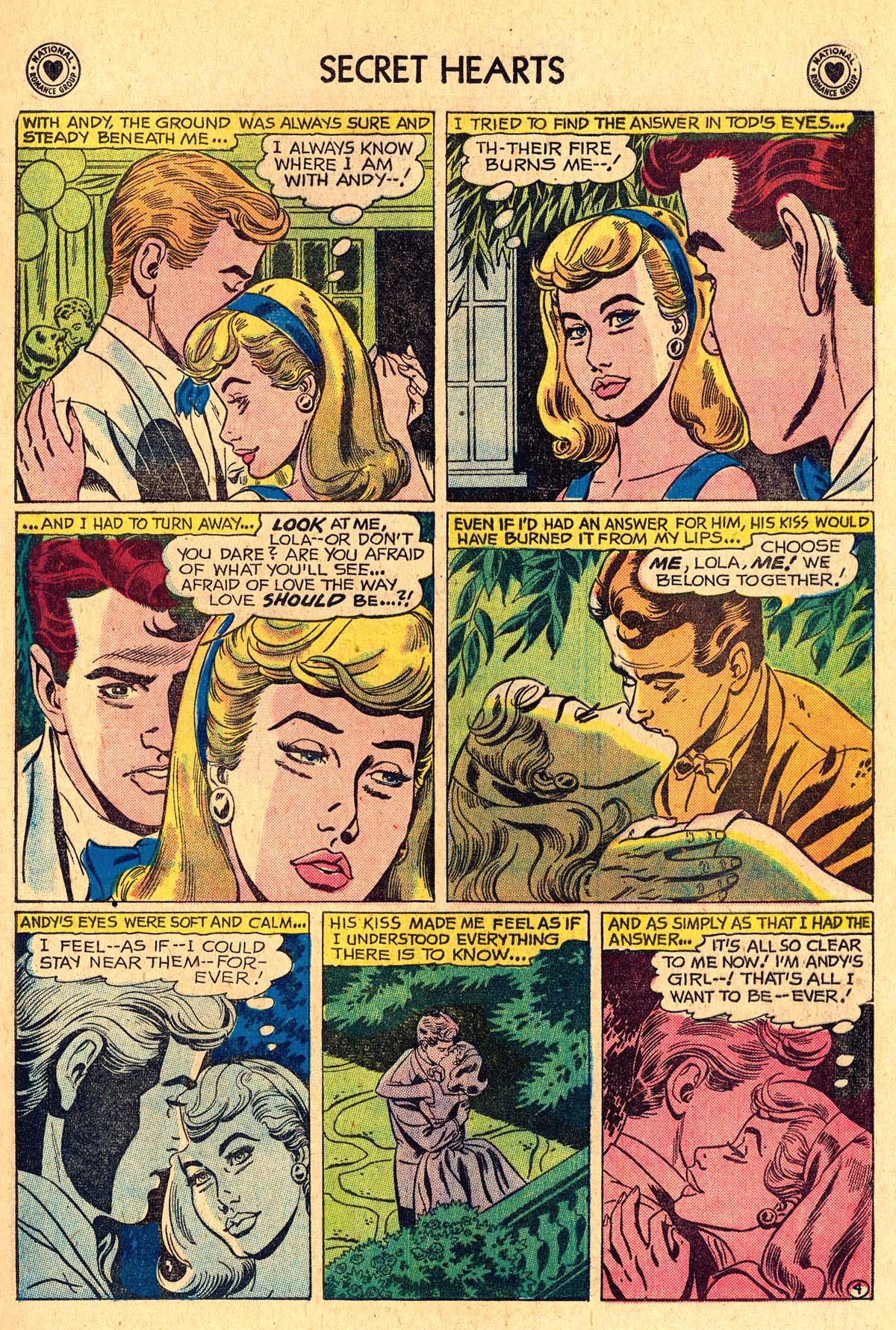 Read online Secret Hearts comic -  Issue #60 - 13