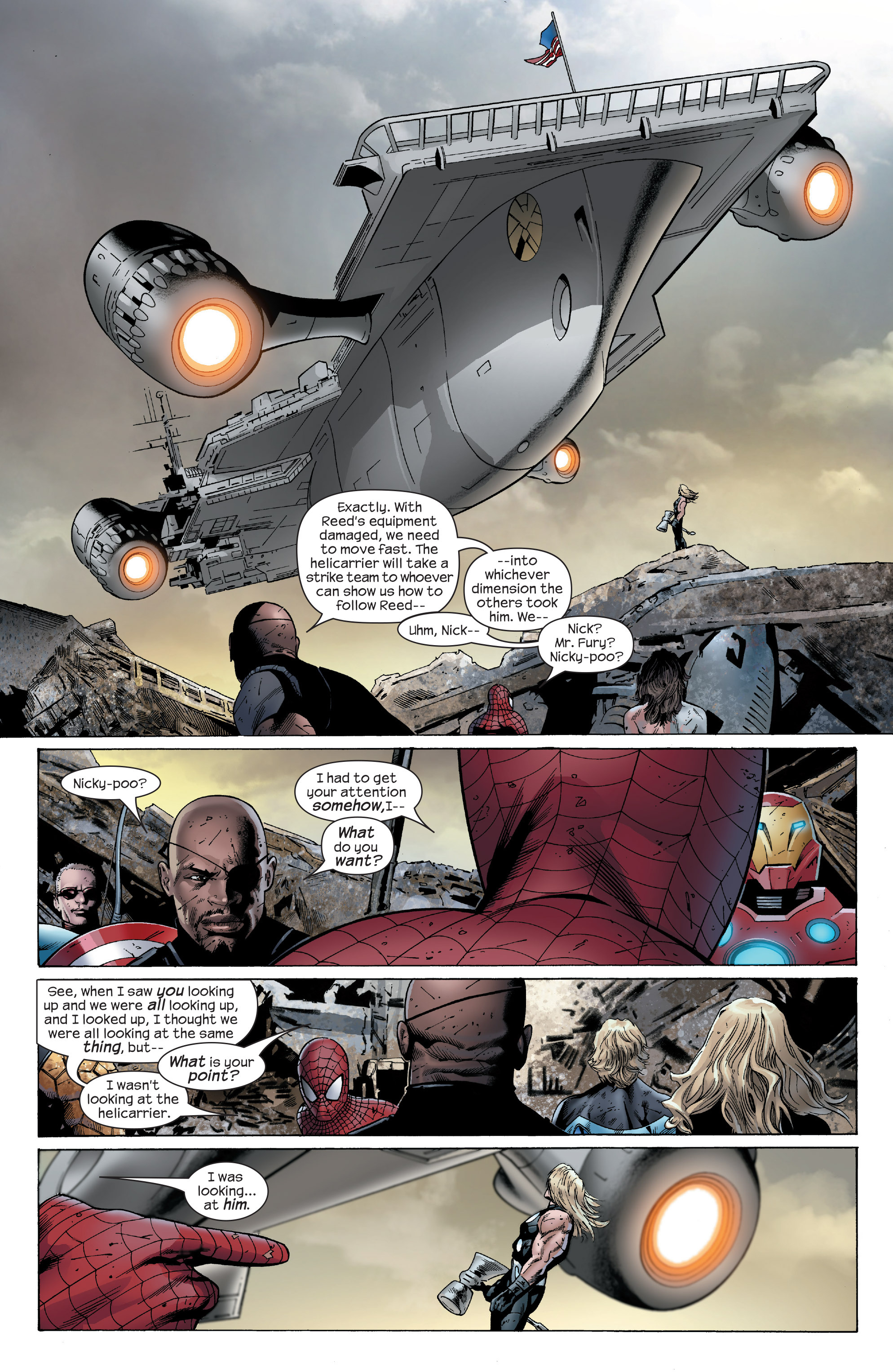 Read online Ultimate Power comic -  Issue #4 - 4