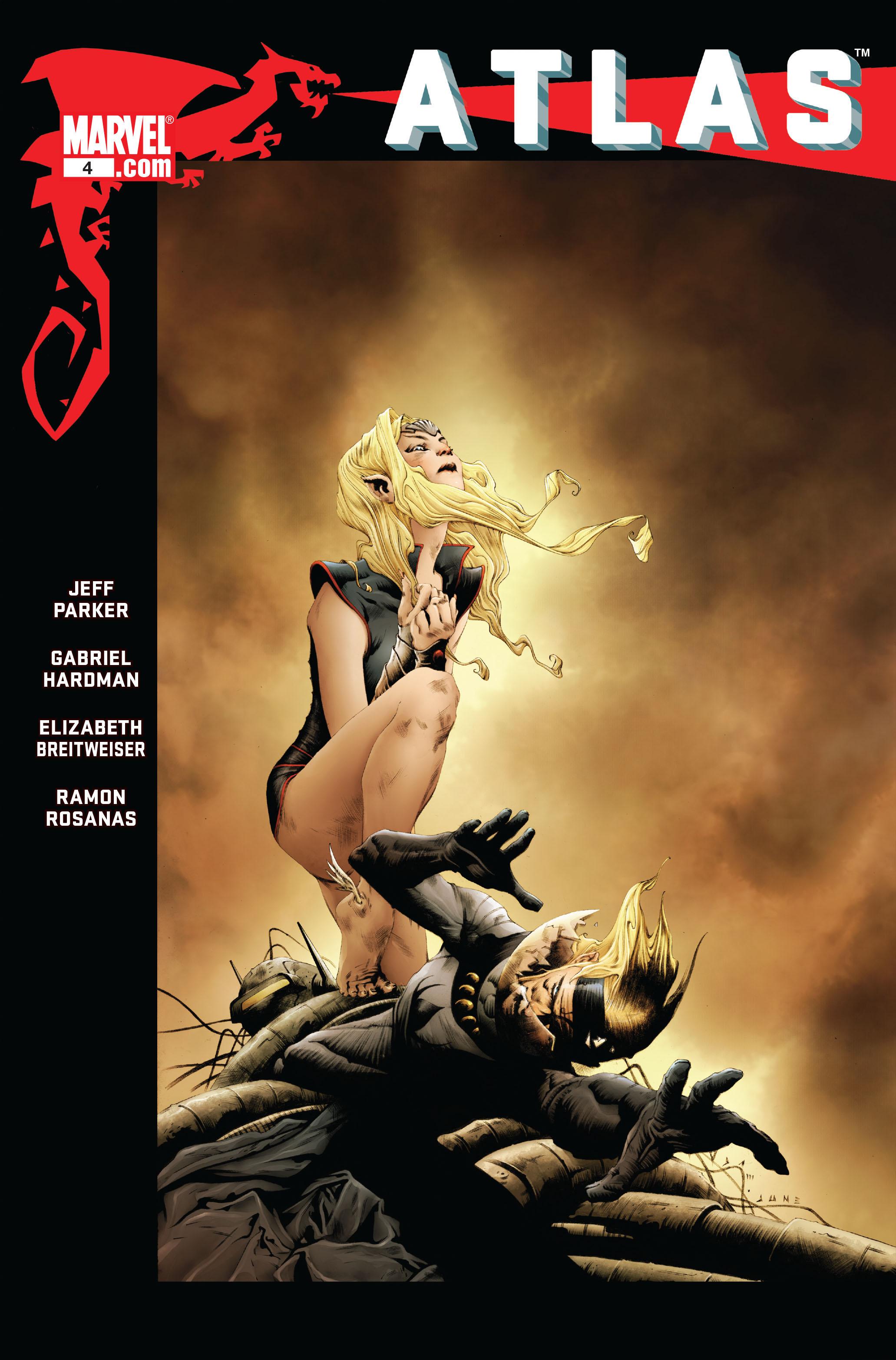 Read online Atlas comic -  Issue #4 - 1