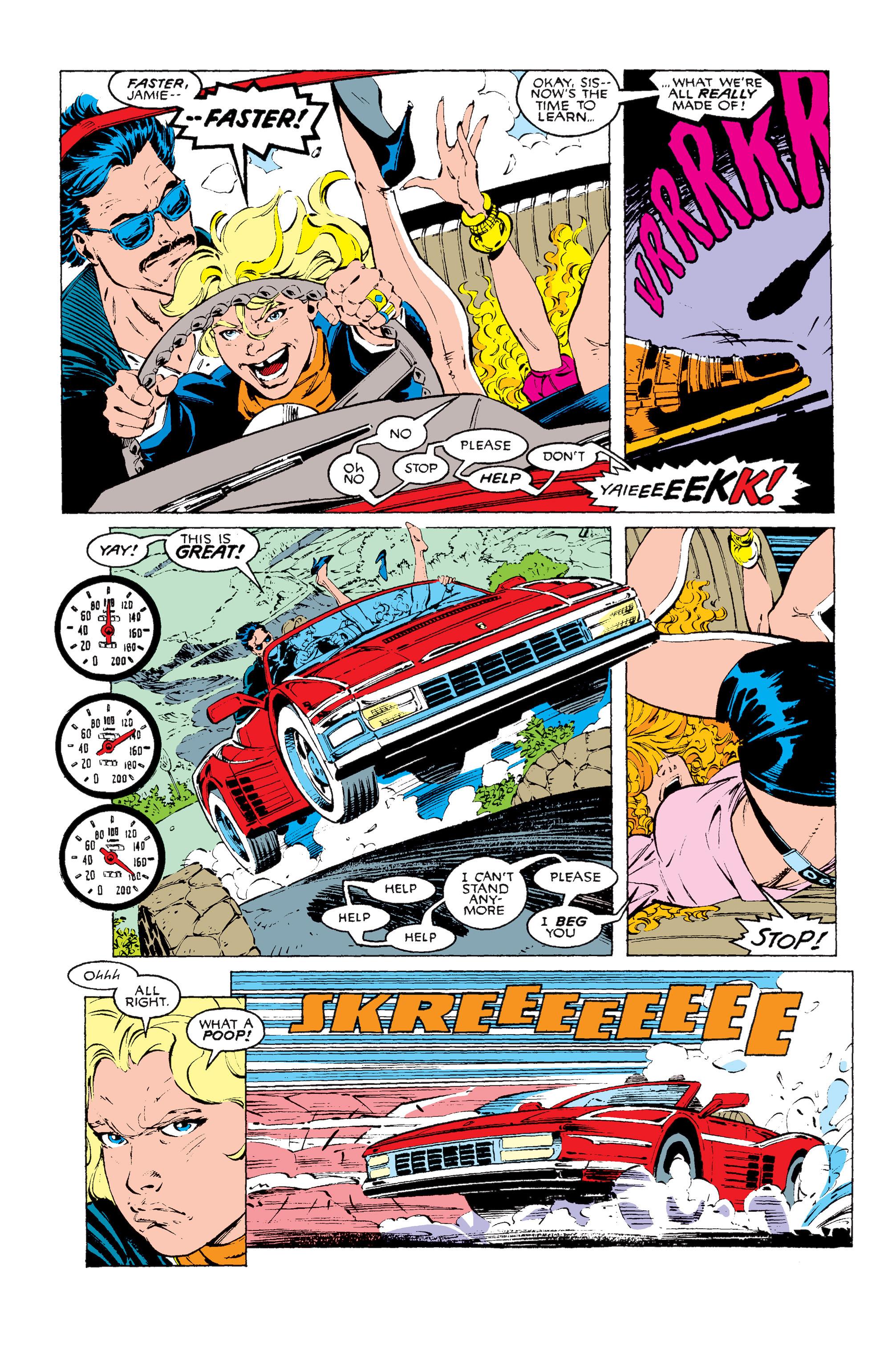 Read online Uncanny X-Men (1963) comic -  Issue #256 - 10