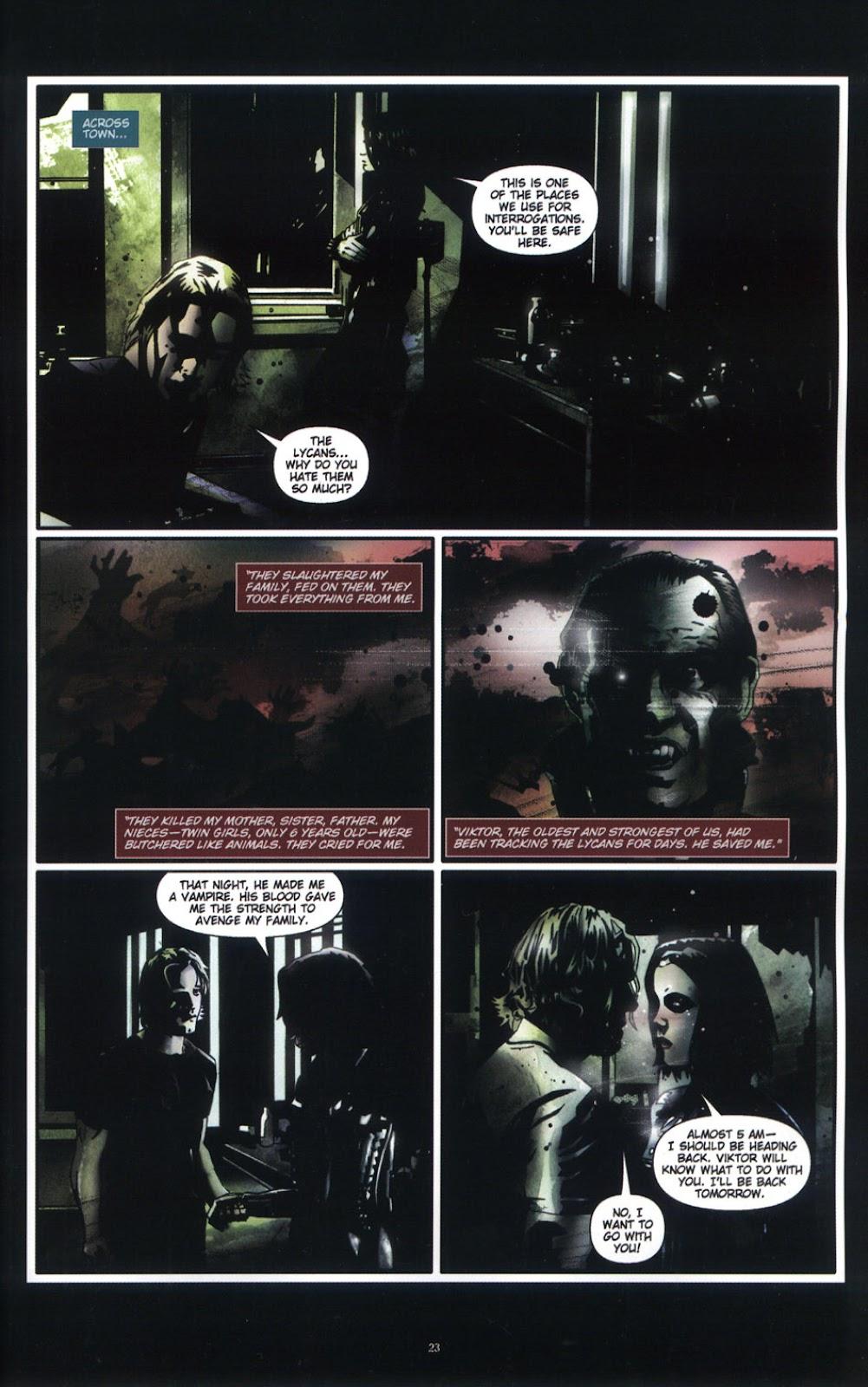 Read online Underworld (2003) comic -  Issue # Full - 25