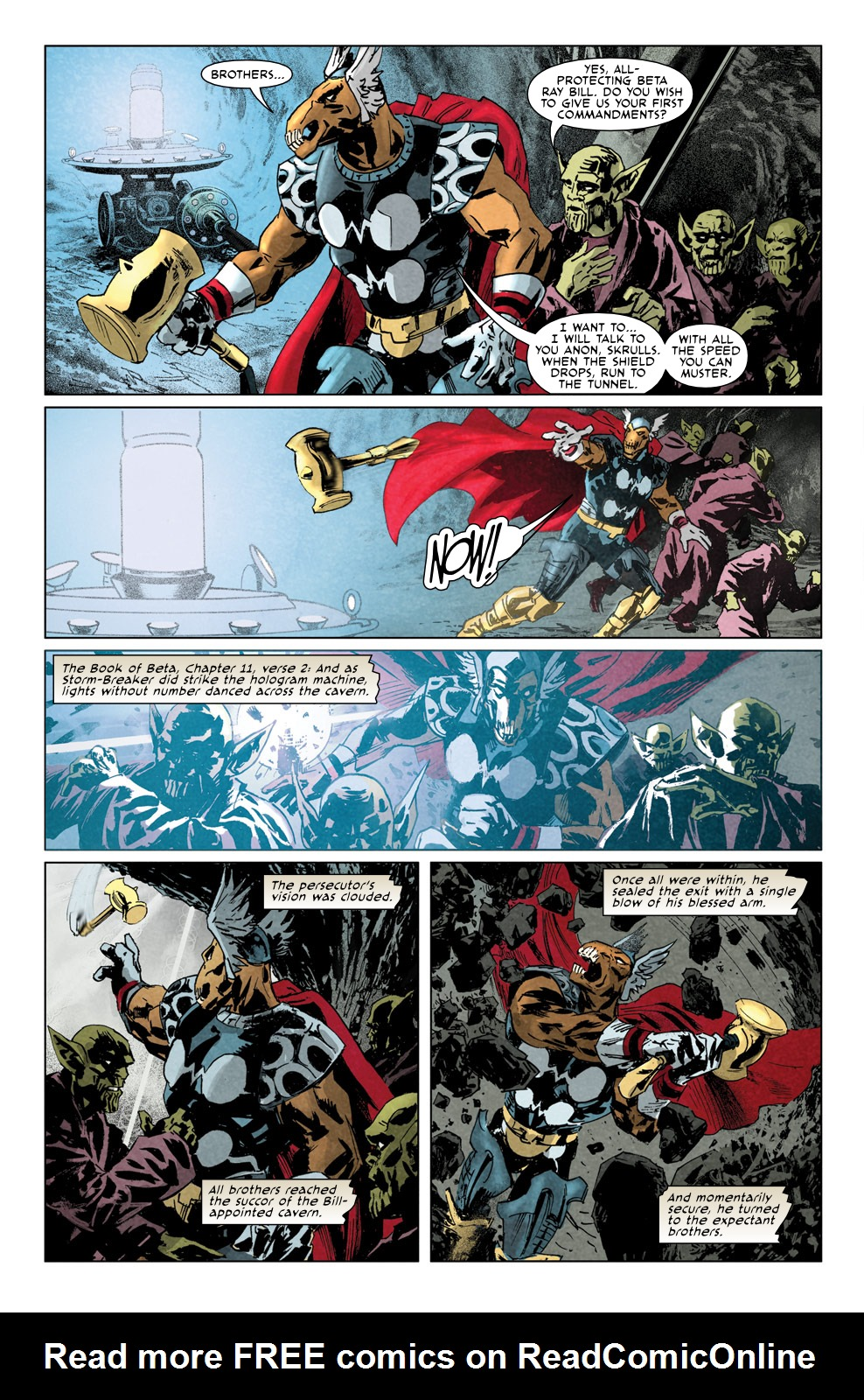 Read online Secret Invasion Aftermath: Beta Ray Bill - The Green of Eden comic -  Issue # Full - 18