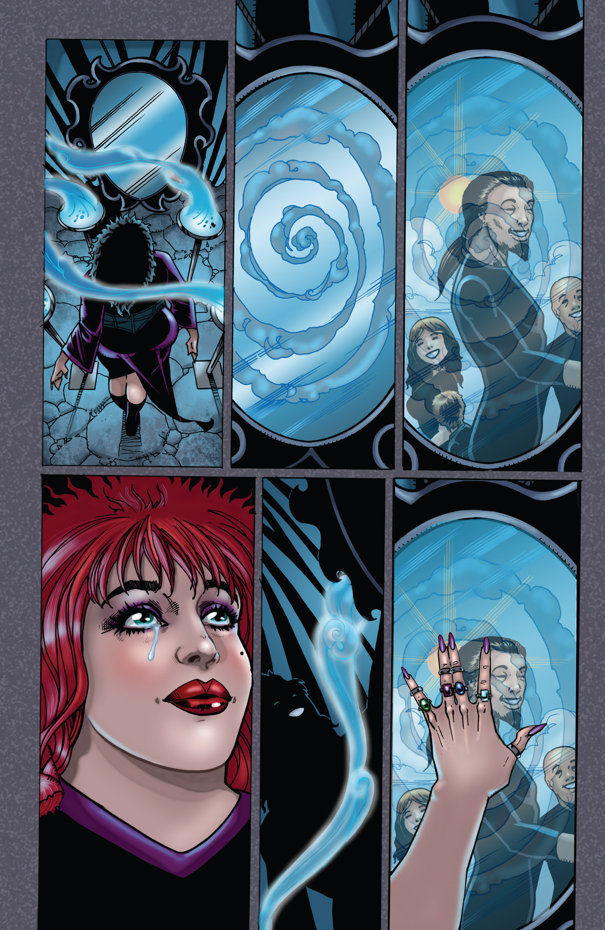 Read online Tarot: Witch of the Black Rose comic -  Issue #104 - 25