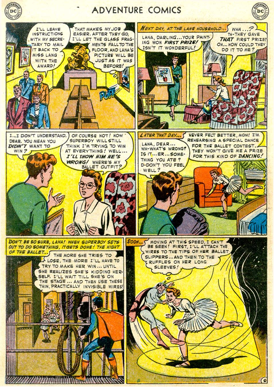 Read online Adventure Comics (1938) comic -  Issue #174 - 8