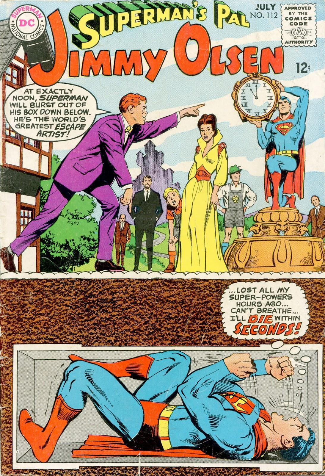 Supermans Pal Jimmy Olsen (1954) 112 Page 1