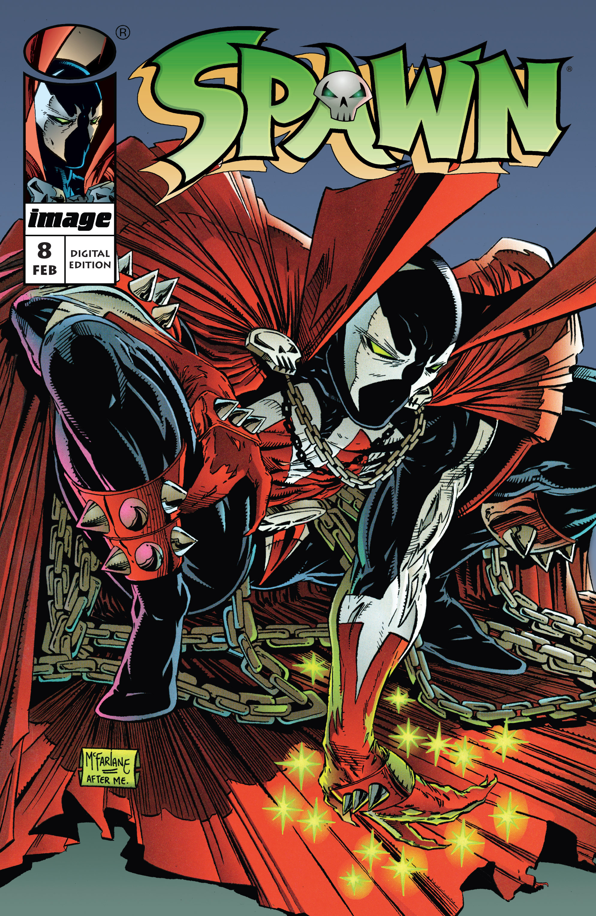 Spawn 8 Page 1