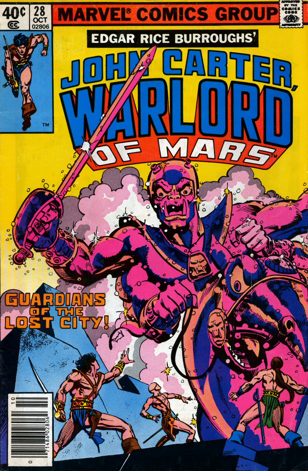 John Carter Warlord of Mars issue 28 - Page 1