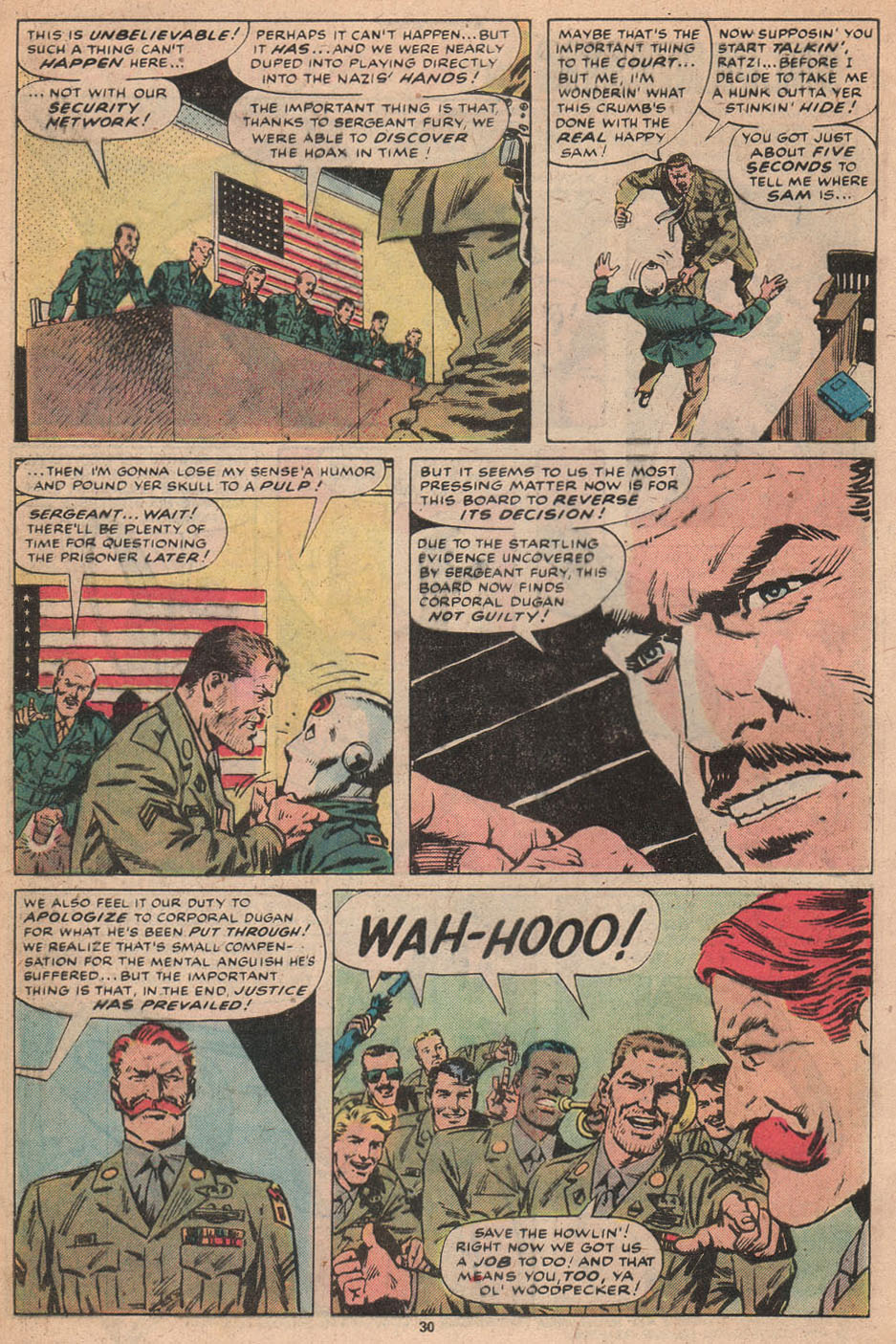 Read online Sgt. Fury comic -  Issue #156 - 31