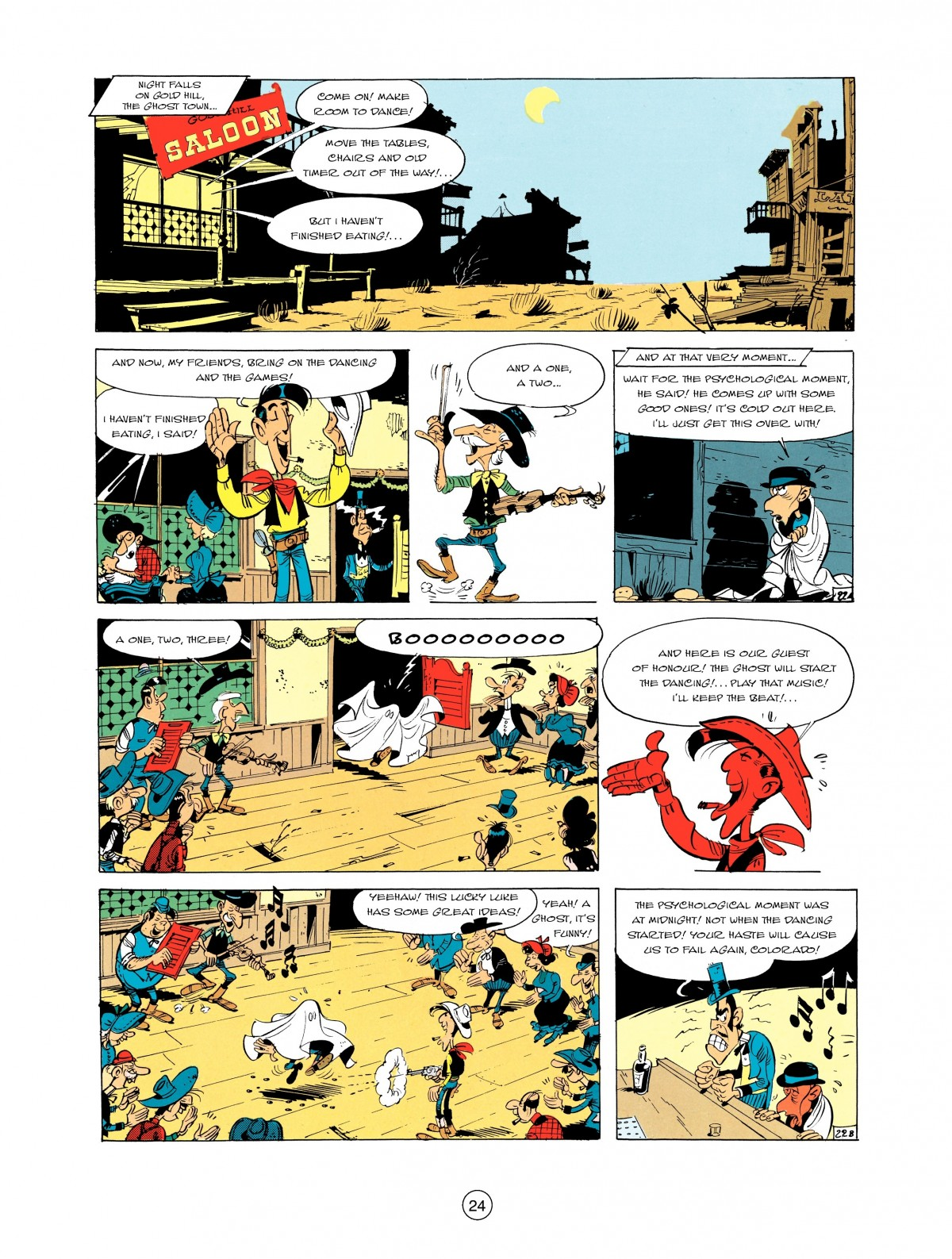 Read online A Lucky Luke Adventure comic -  Issue #2 - 26