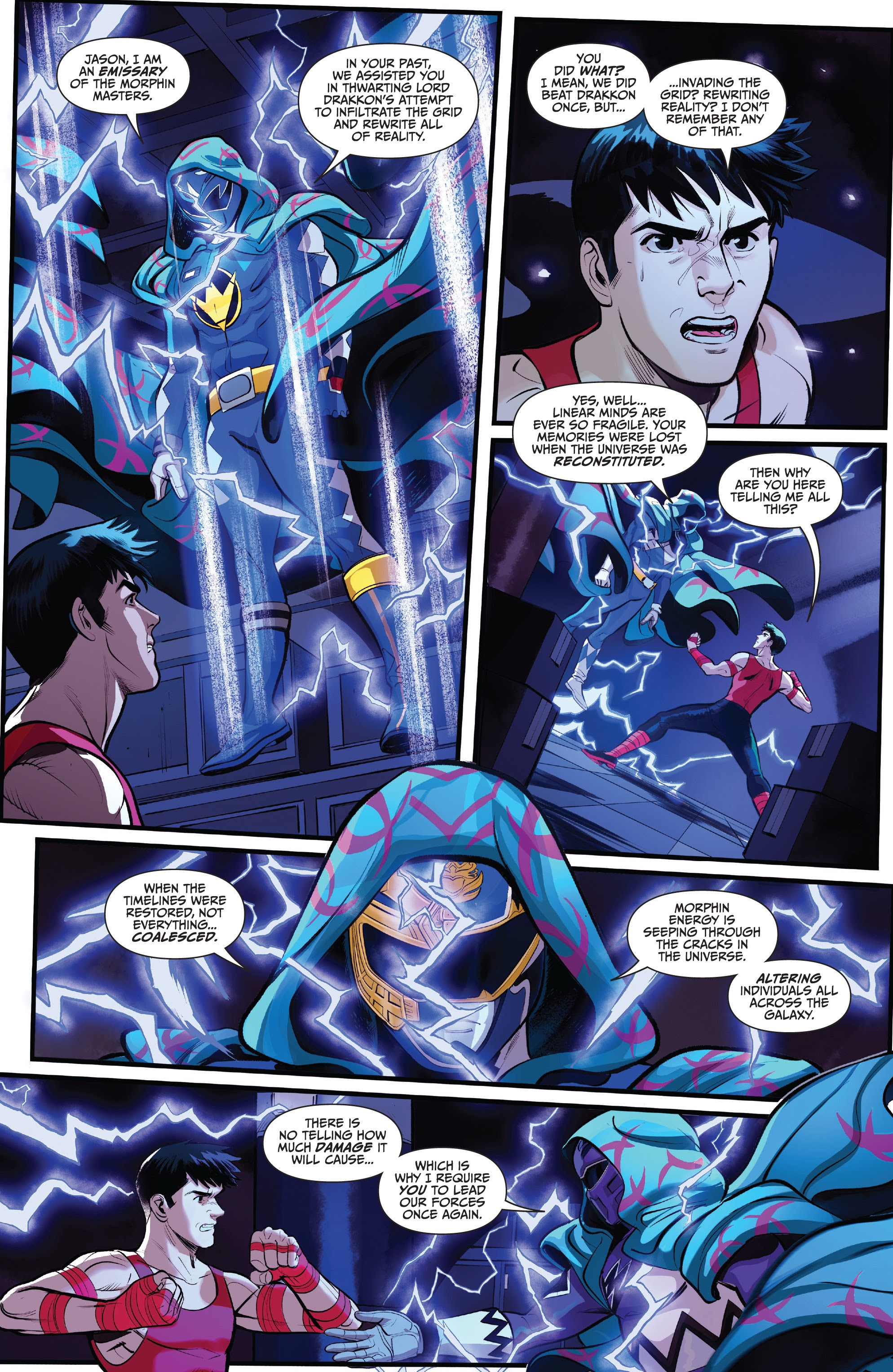 Read online Saban's Go Go Power Rangers comic -  Issue #22 - 7