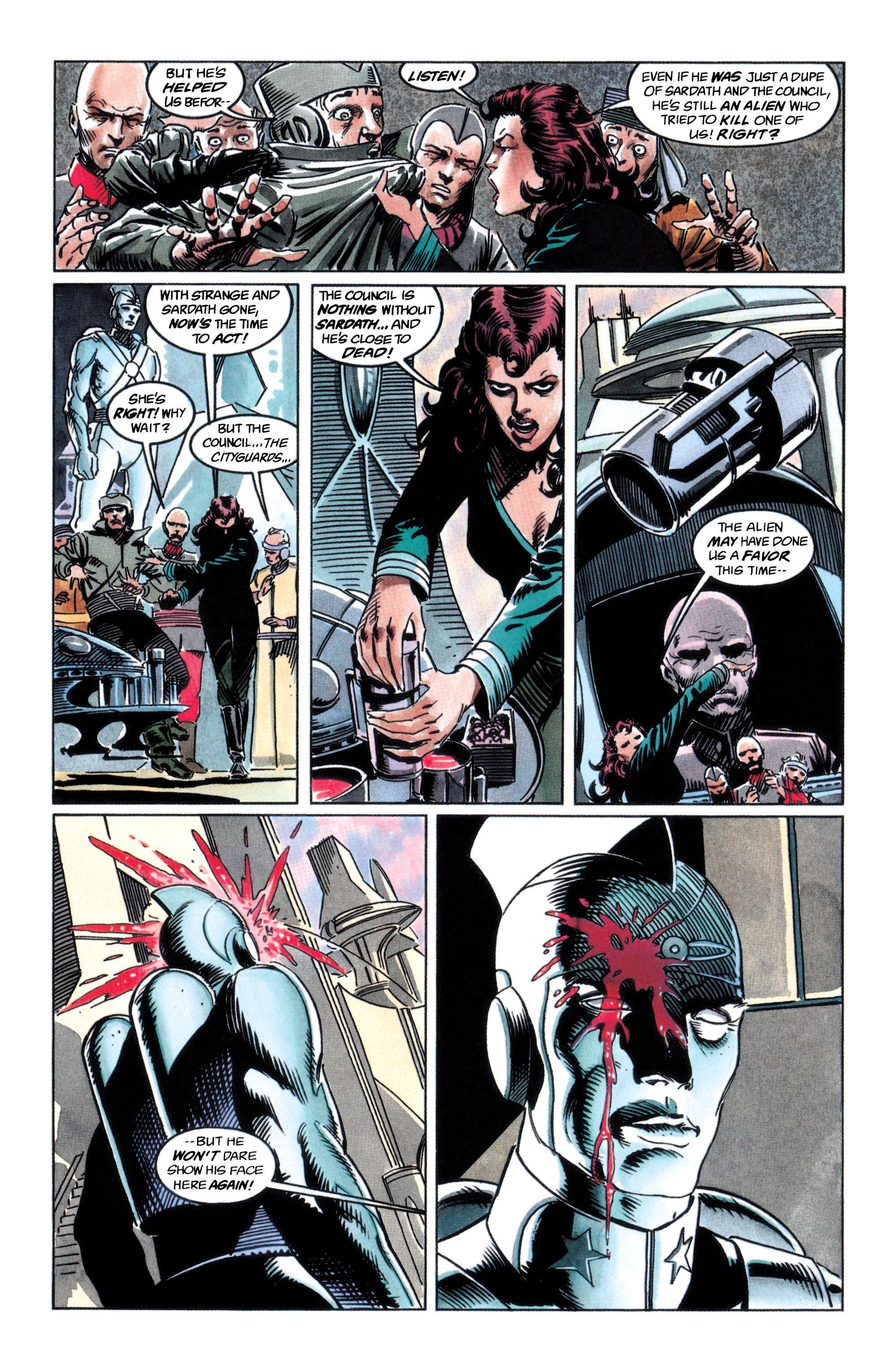 Read online Adam Strange (1990) comic -  Issue #2 - 9