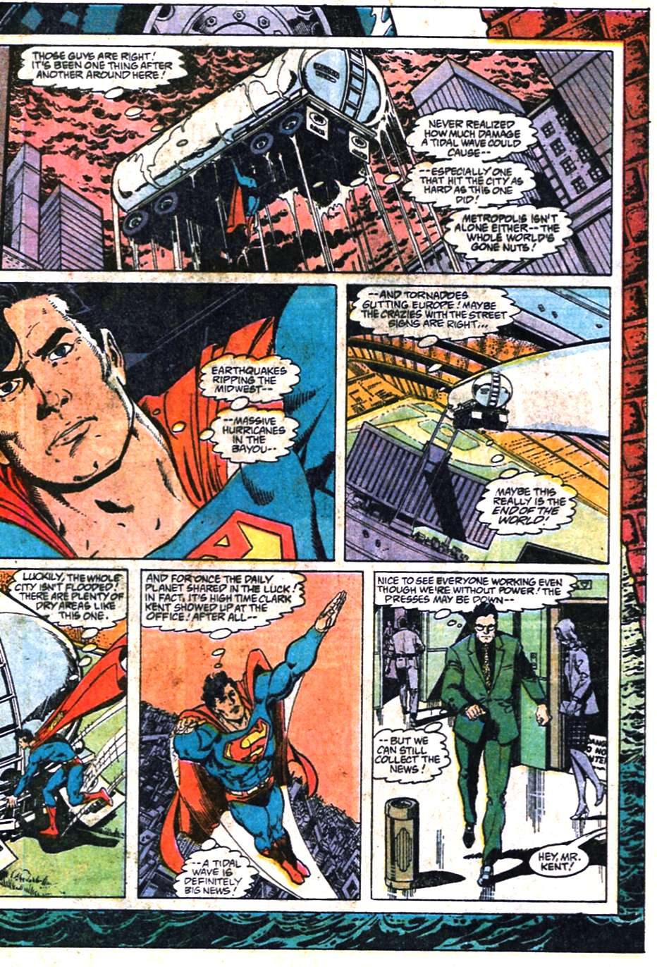 Read online Adventures of Superman (1987) comic -  Issue #461 - 4
