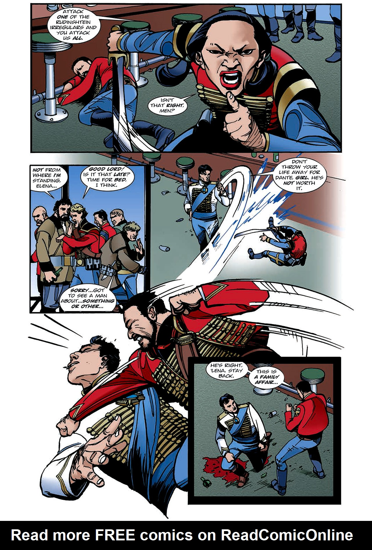 Read online Nikolai Dante comic -  Issue # TPB 4 - 113