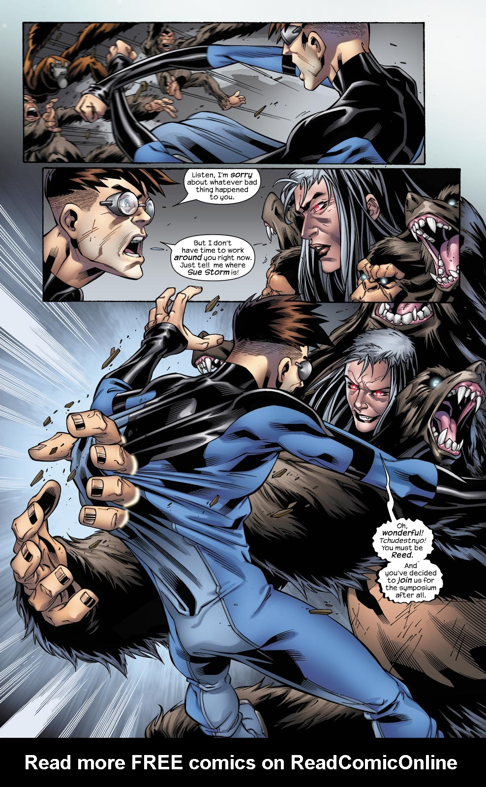 Read online Ultimate Fantastic Four (2004) comic -  Issue #49 - 18