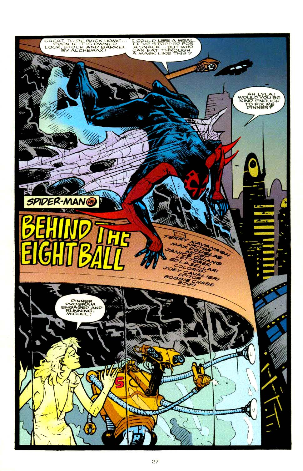 Read online 2099 Unlimited comic -  Issue #8 - 24