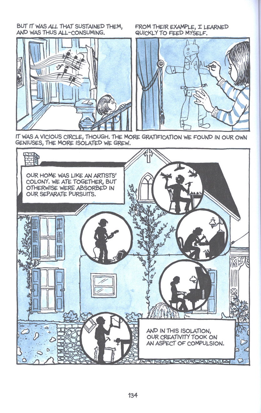 Read online Fun Home: A Family Tragicomic comic -  Issue # TPB - 140