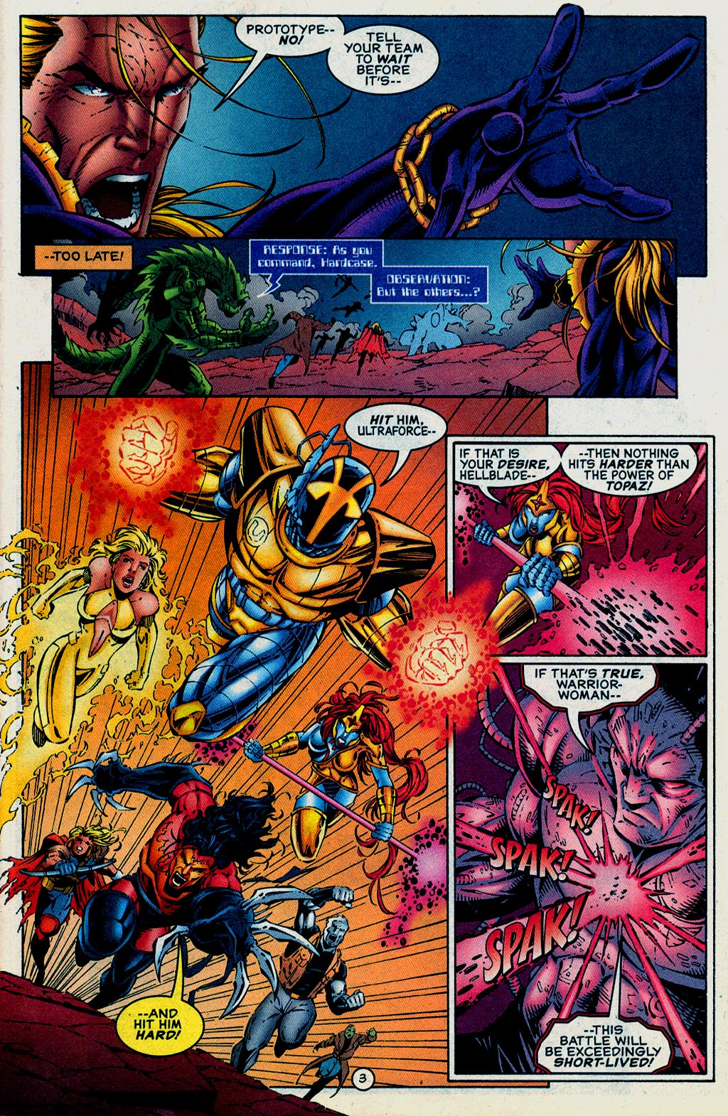 Read online UltraForce (1995) comic -  Issue #15 - 4