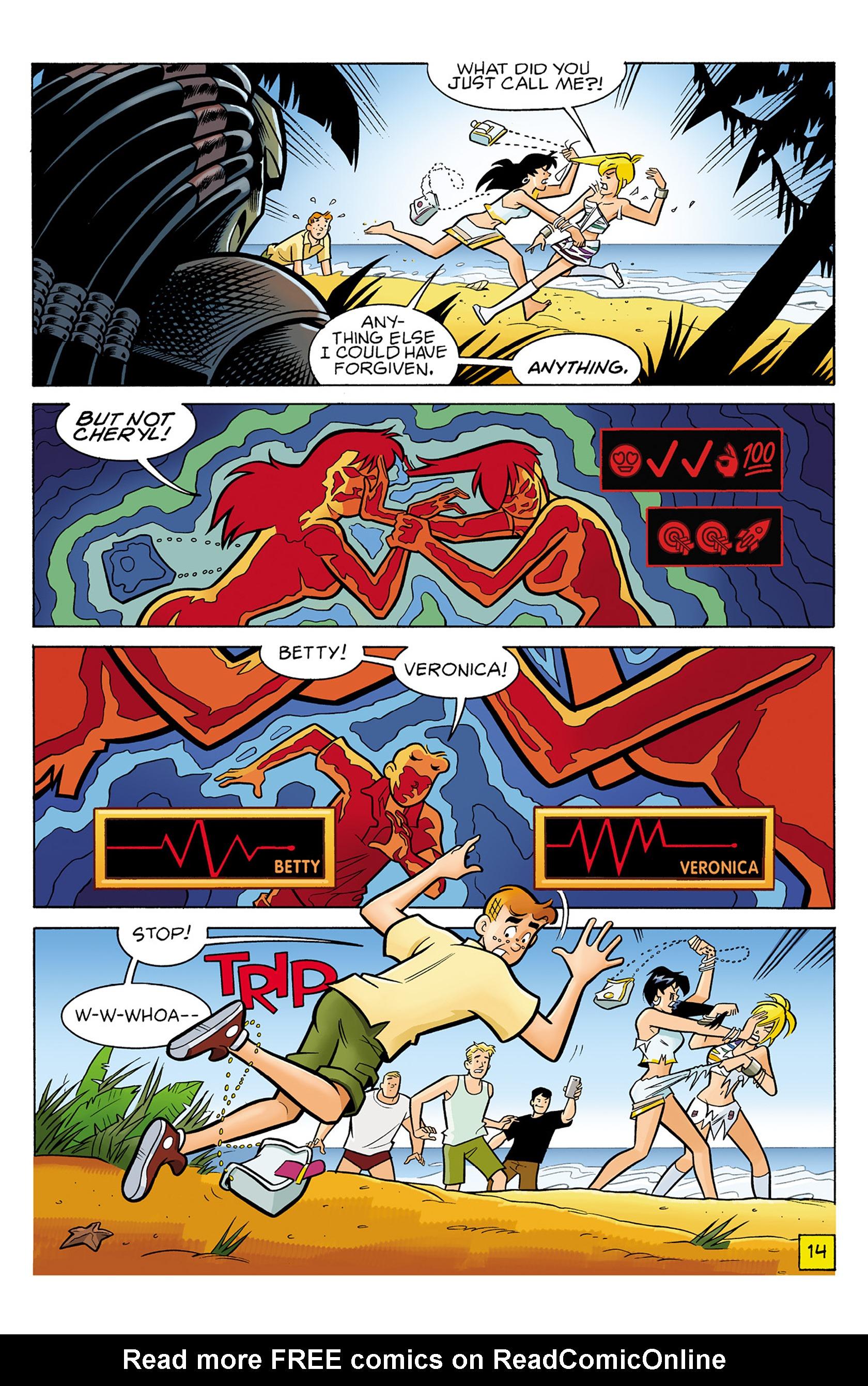 Read online Archie vs. Predator comic -  Issue #1 - 15