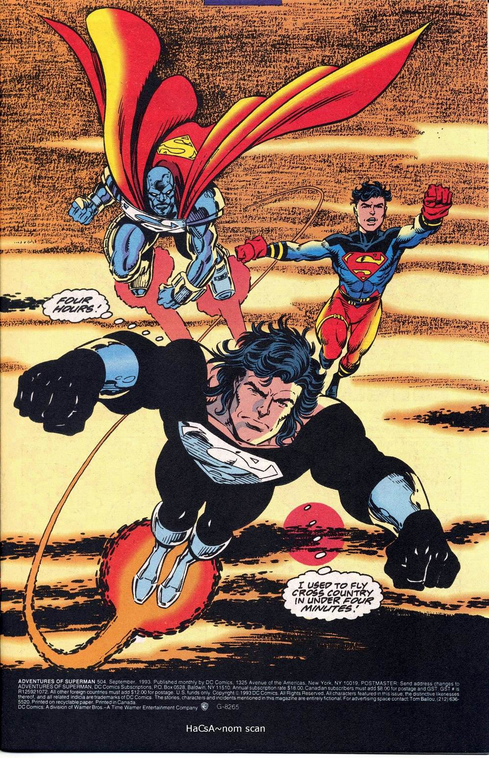 Read online Adventures of Superman (1987) comic -  Issue #504 - 2
