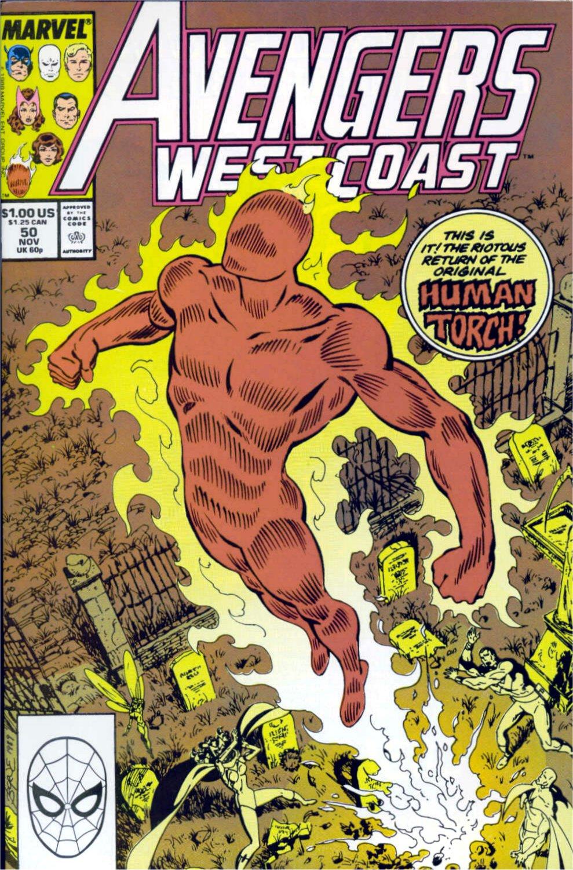 Avengers West Coast (1989) 50 Page 1