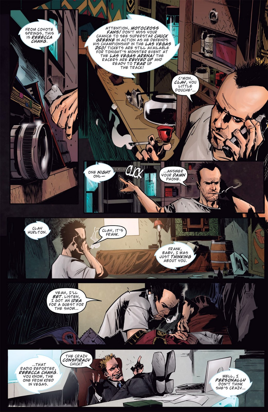 Read online Dead Rising: Road to Fortune comic -  Issue #1 - 18