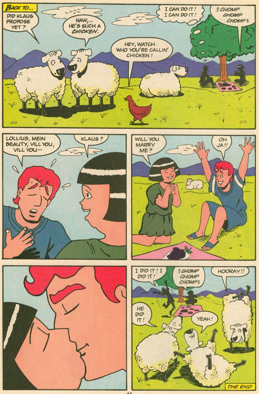 Read online Sweet XVI (Sixteen): Back To School Special comic -  Issue # Full - 36