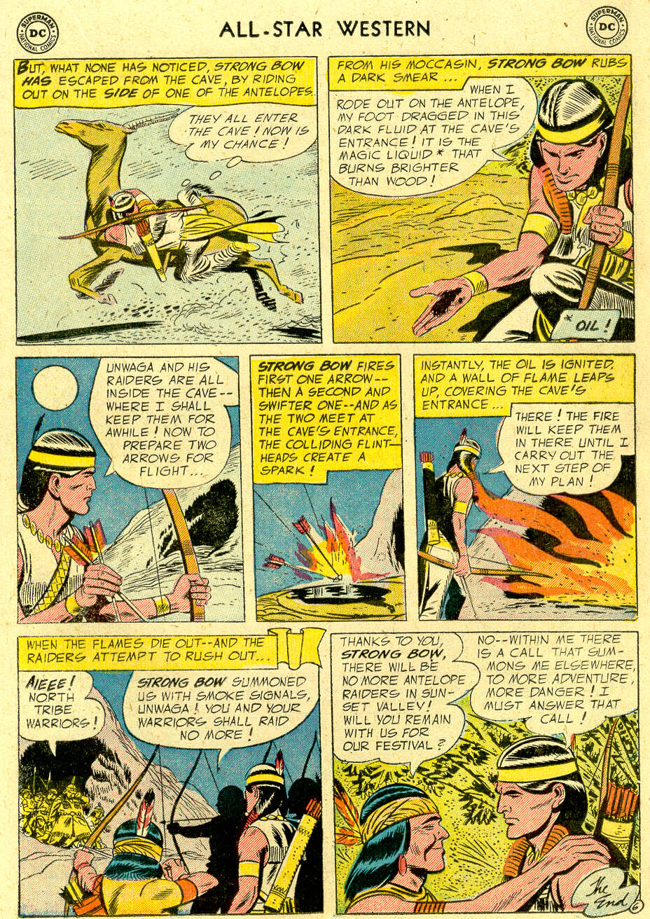 Read online All-Star Western (1951) comic -  Issue #83 - 17