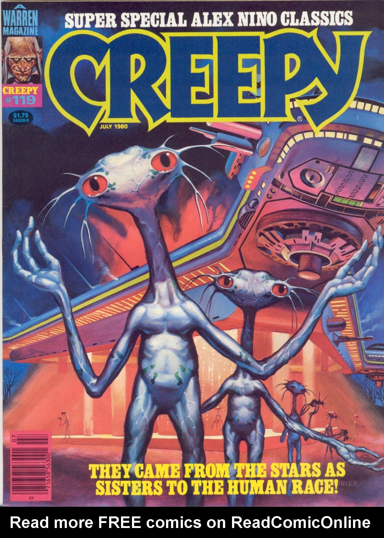 Creepy (1964) 119 Page 1
