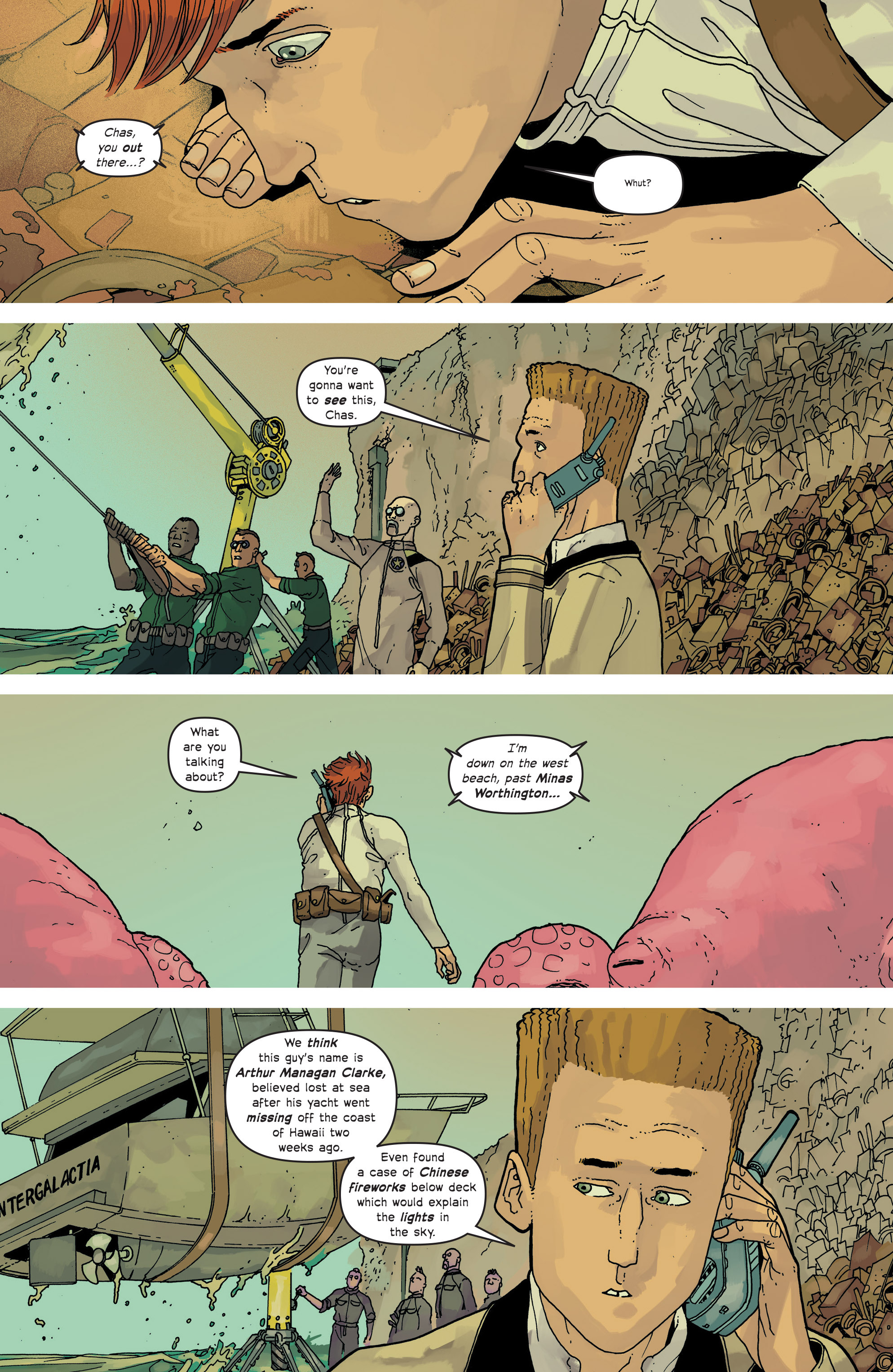 Read online Great Pacific comic -  Issue #13 - 19