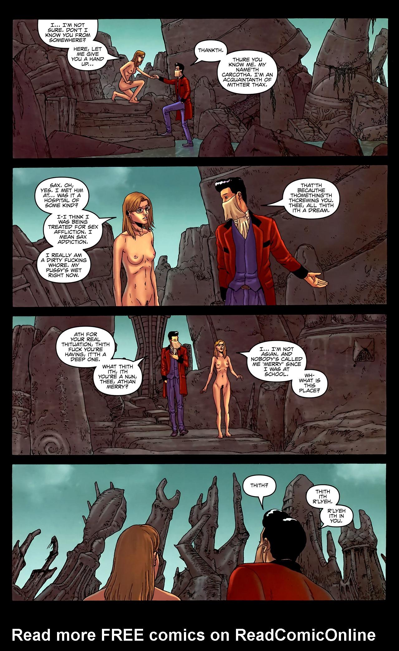 Read online Alan Moore's Neonomicon comic -  Issue #3 - 11