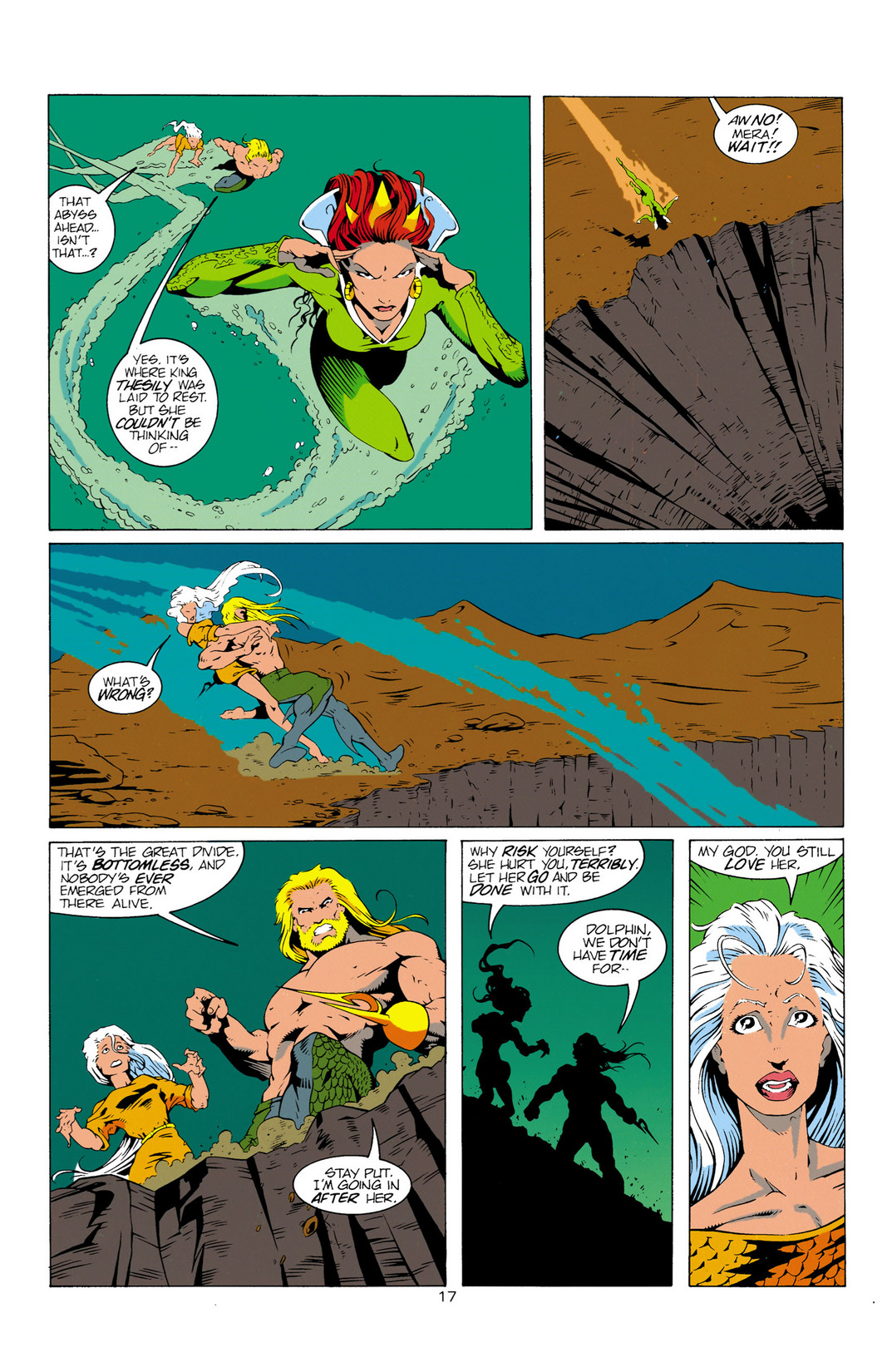 Read online Aquaman (1994) comic -  Issue #12 - 18