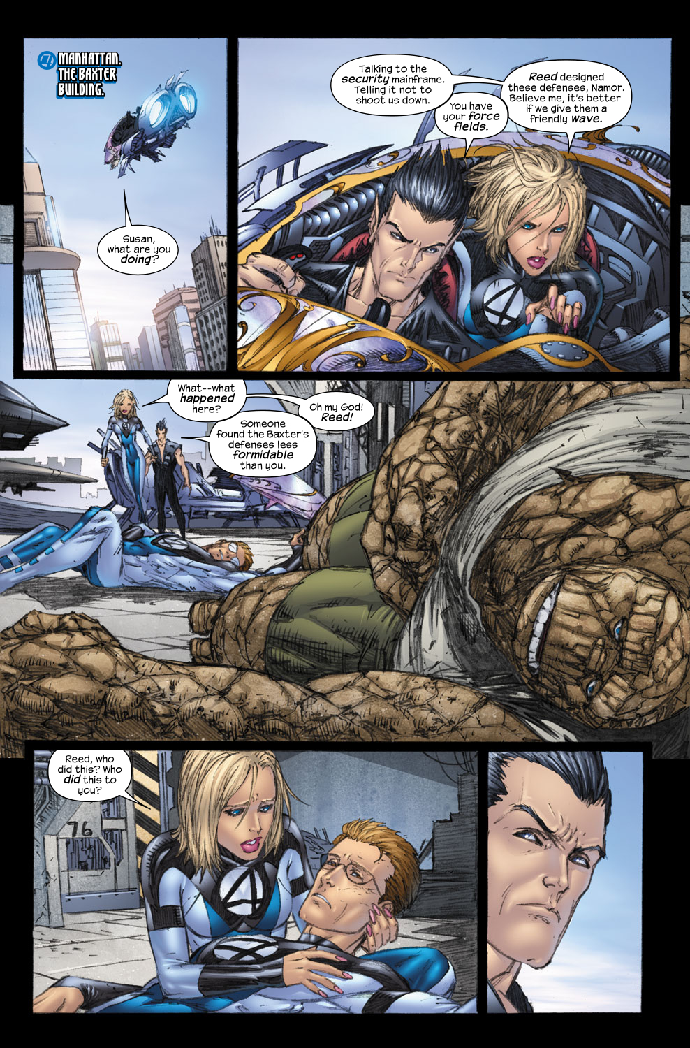 Read online Ultimate Fantastic Four (2004) comic -  Issue #57 - 5
