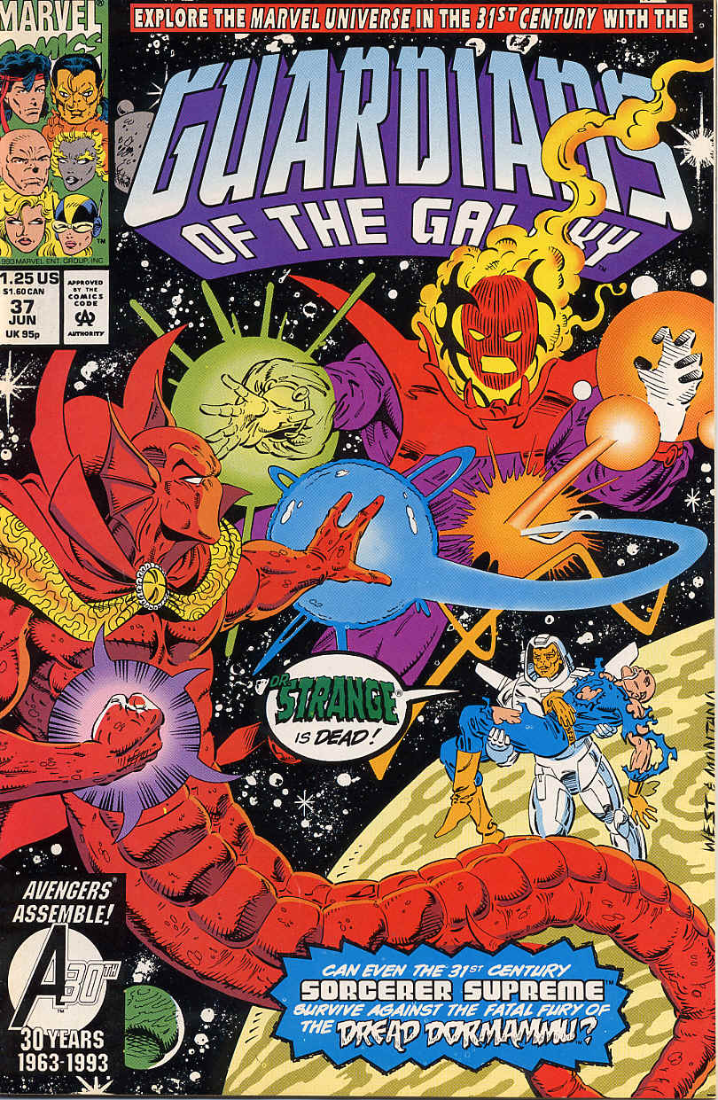 Guardians of the Galaxy (1990) 37 Page 1