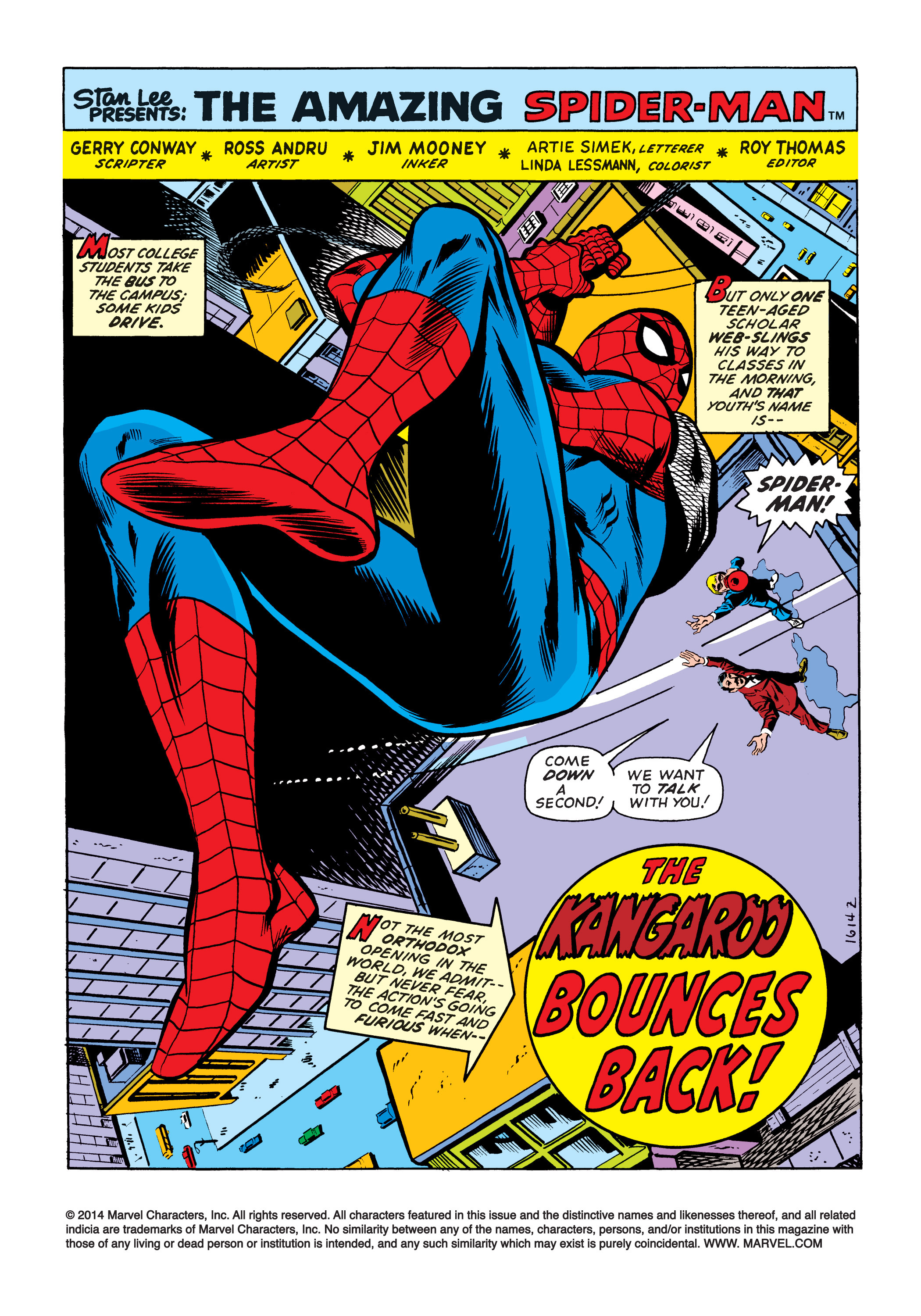 The Amazing Spider-Man (1963) 126 Page 1