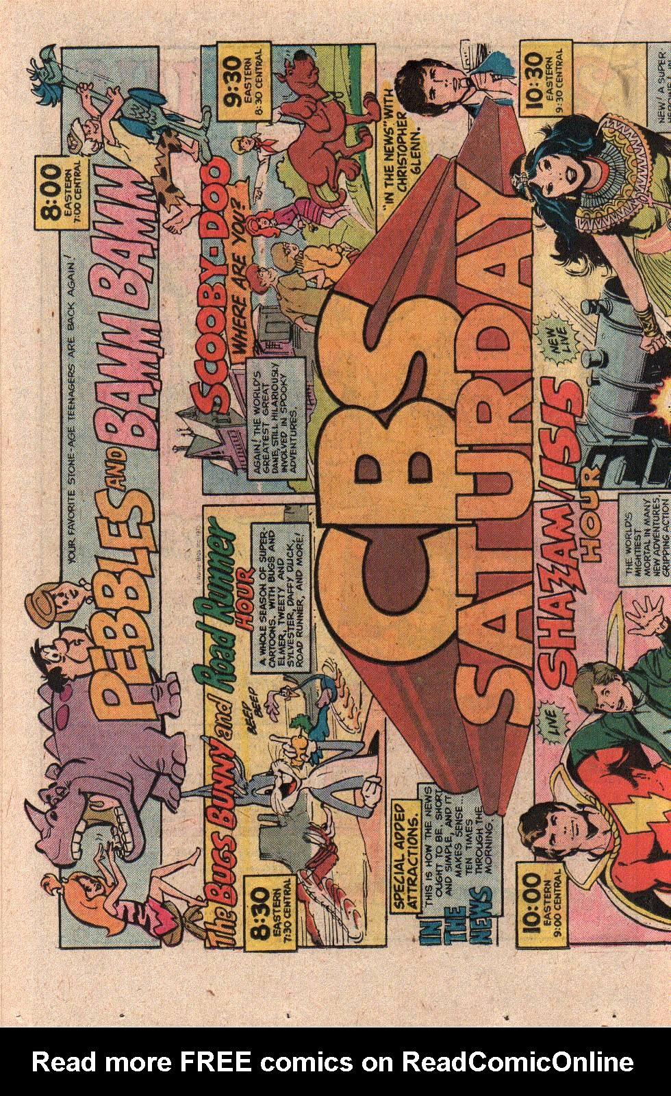 Read online Shazam! (1973) comic -  Issue #21 - 18